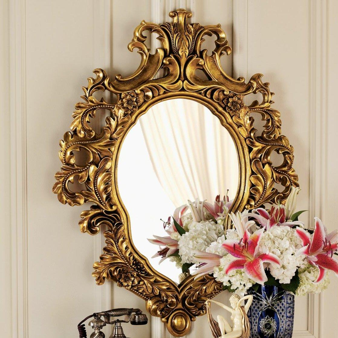 Design toscano madame antoinette salon mirror reviews for Design toscano