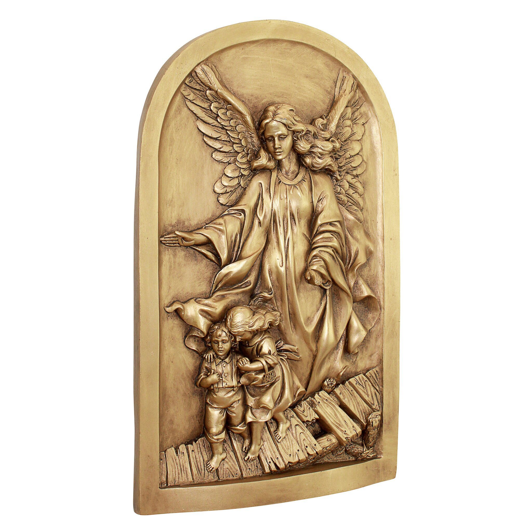 Design toscano angel of god guardian angel wall d cor for Angel wall decoration