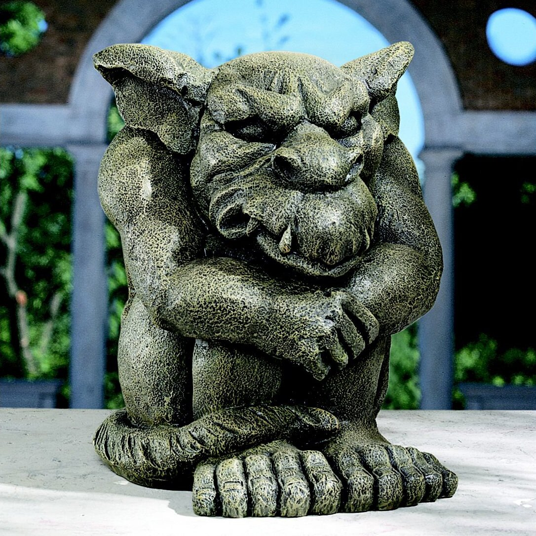Design toscano detest the rest gargoyle statue reviews for Gargoyle decor