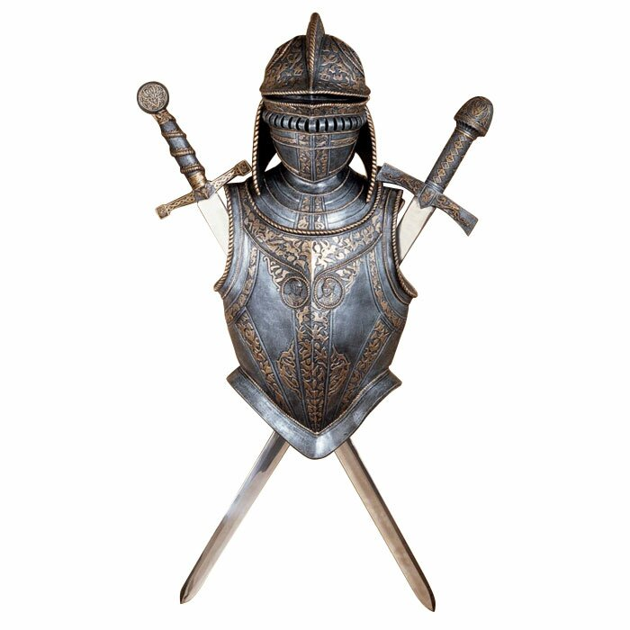 Design toscano 16th century nunsmere hall battle armor for Armor decoration