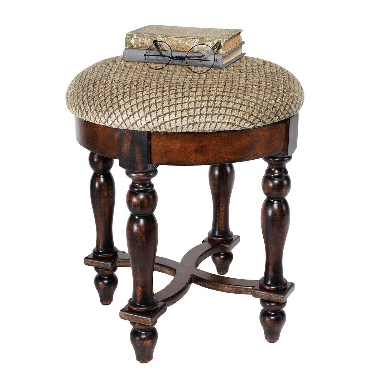 Design toscano grand duchess boudoir stool reviews wayfair for Boudoir stoel
