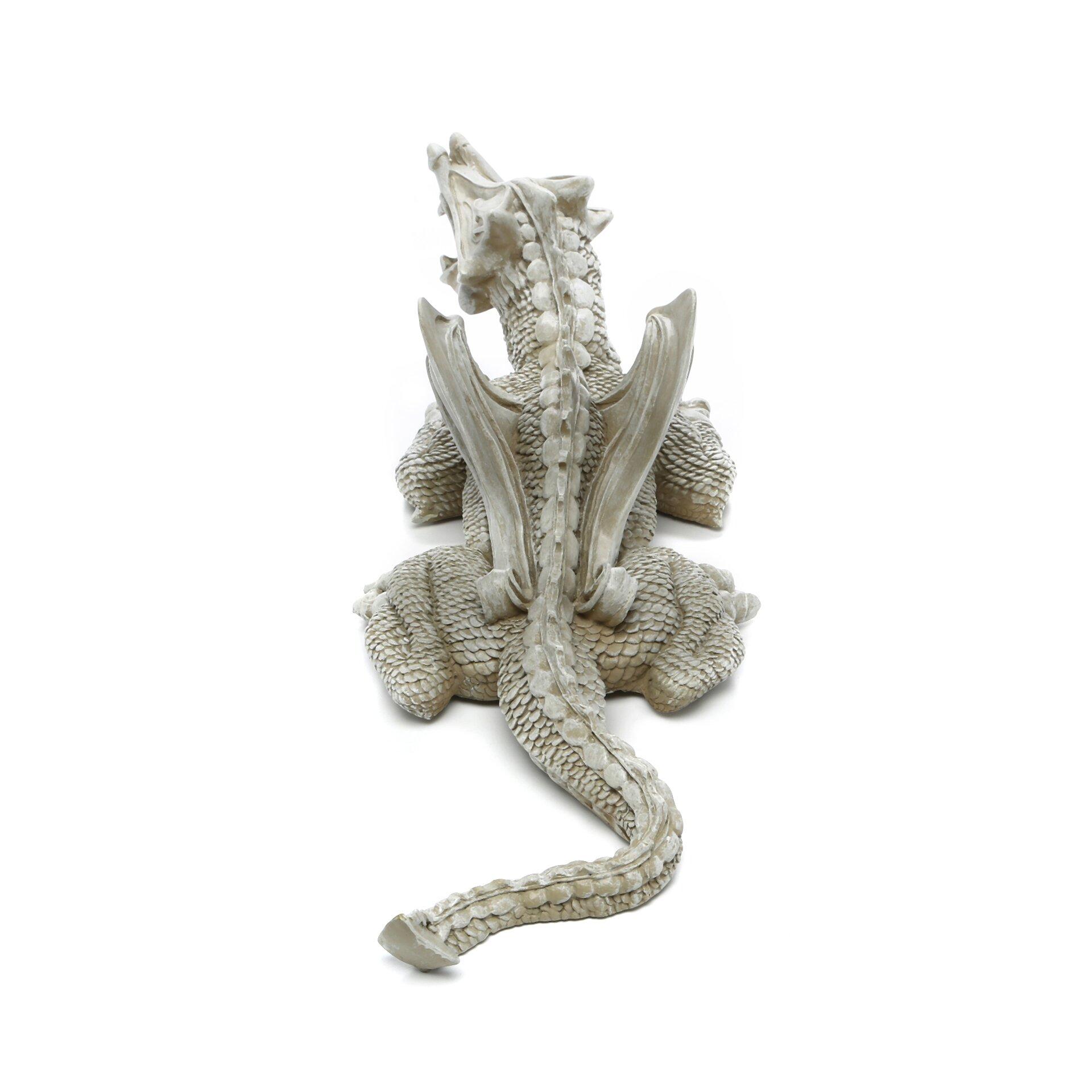 Design toscano warsin dragon statue reviews wayfair for Design toscano