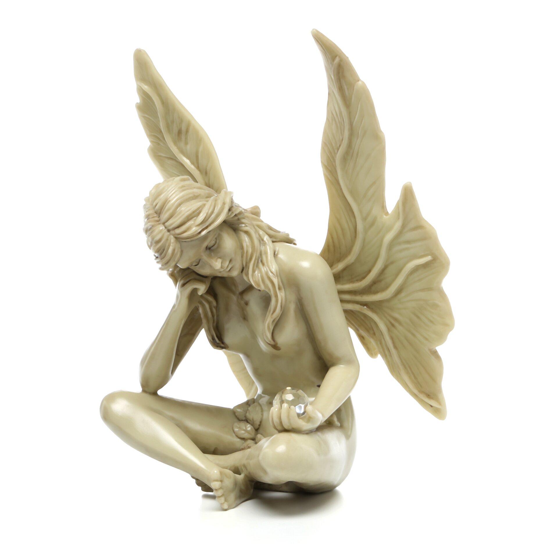 Design toscano the secret garden gazing fairy statue reviews - Fairy statues for sale ...