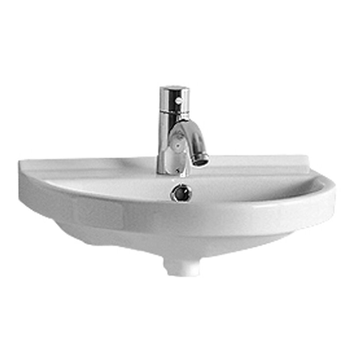 Whitehaus Collection China U-Shaped Wall-Mount Bathroom