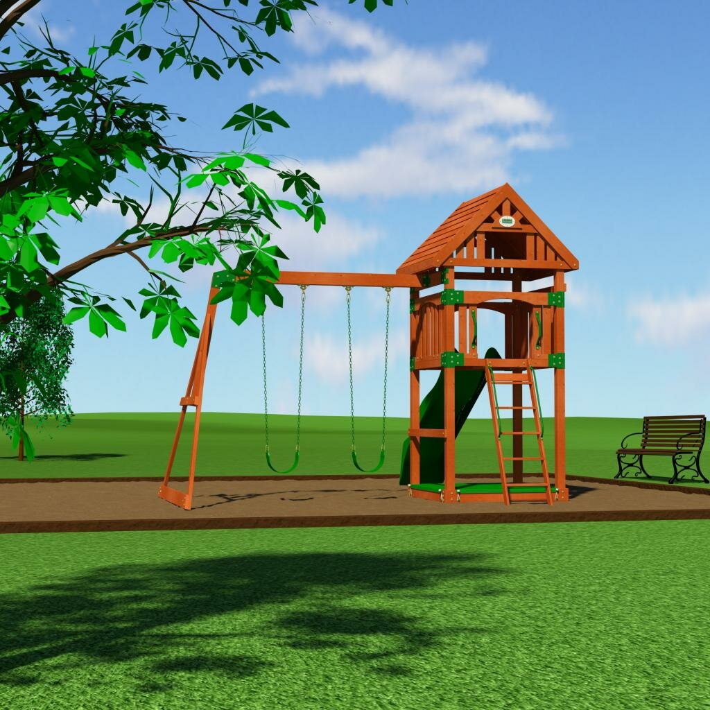 backyard discovery trek cedar all cedar swing set reviews wayfair