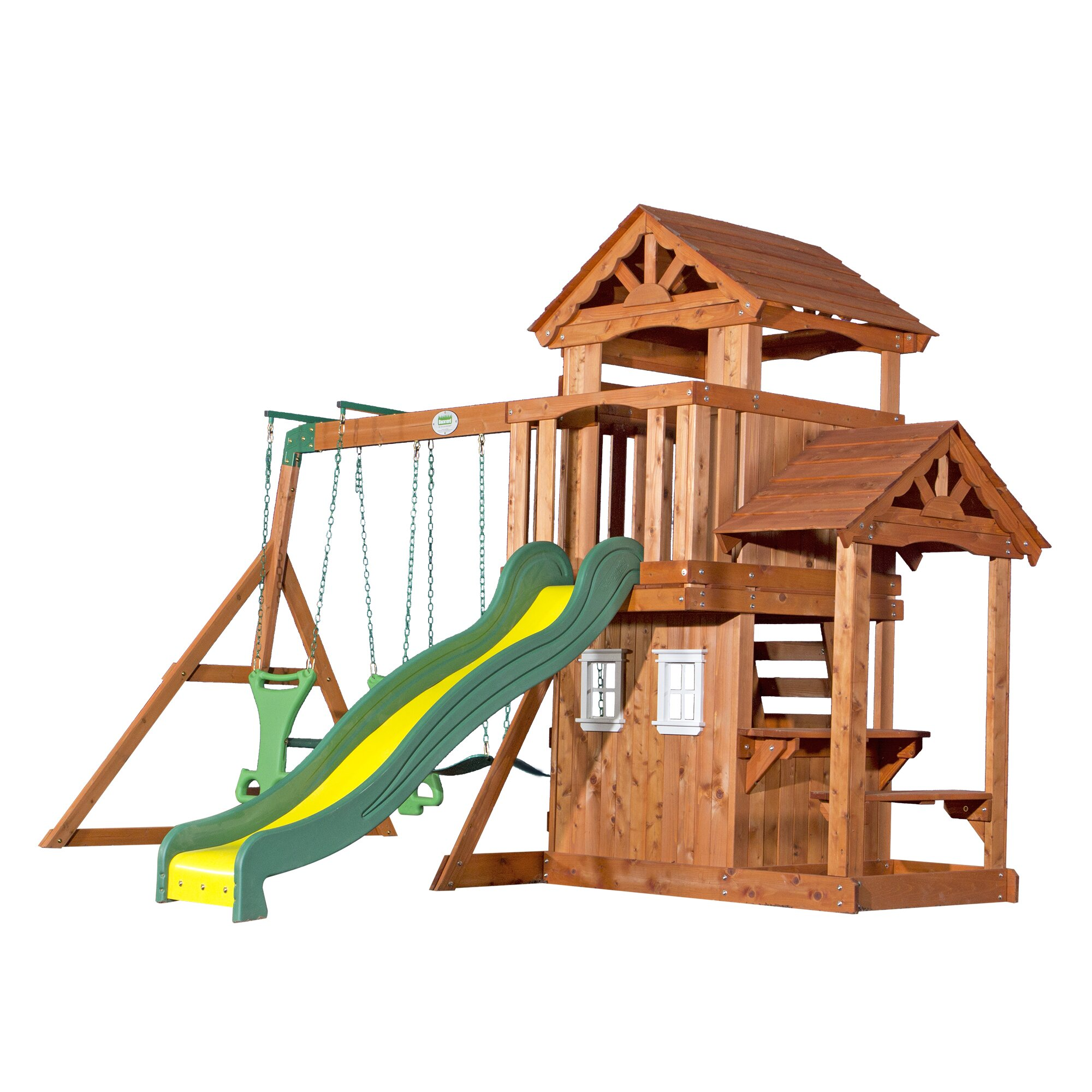 Backyard Discovery Tanglewood All Cedar Swing Set ...