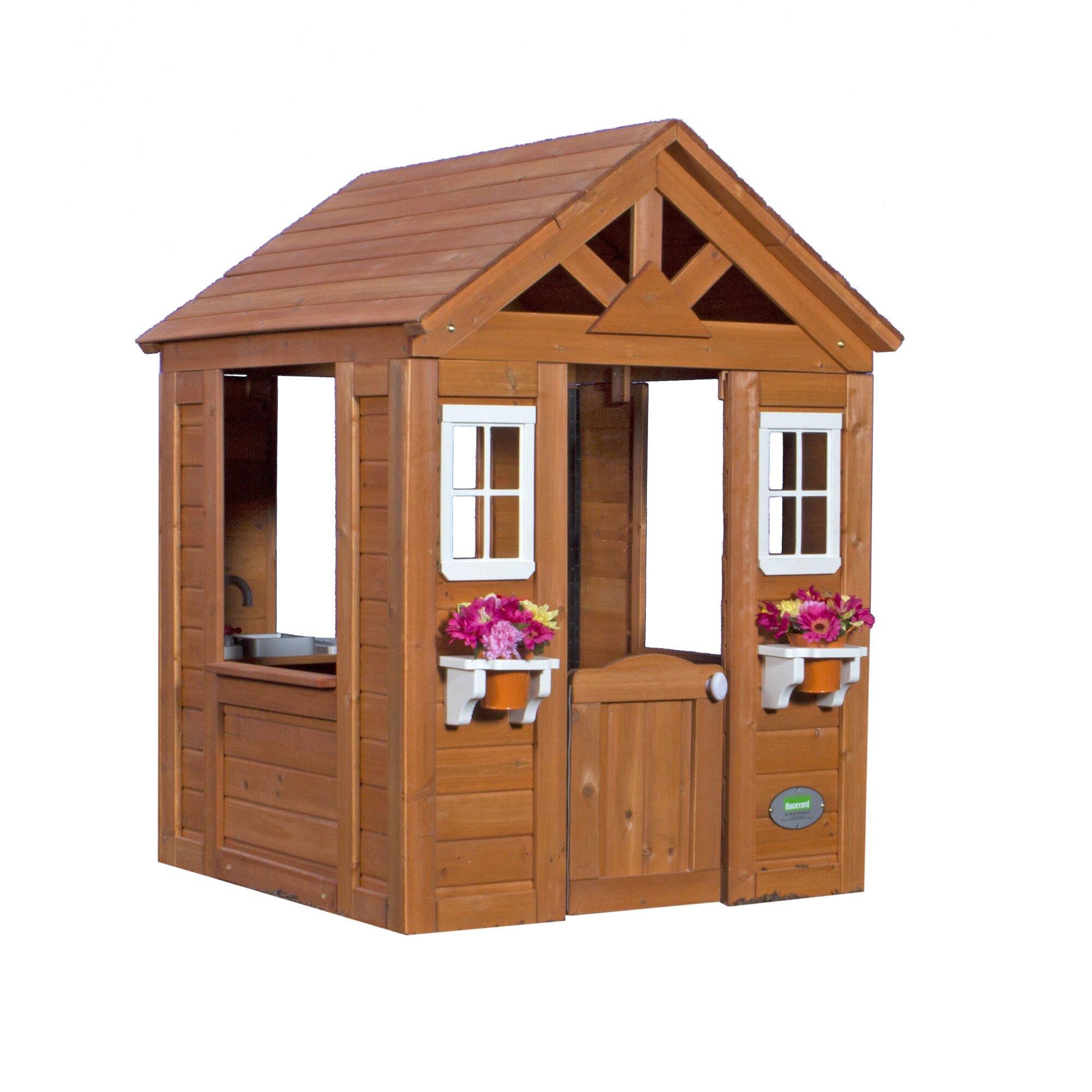 backyard discovery timberlake playhouse reviews wayfair