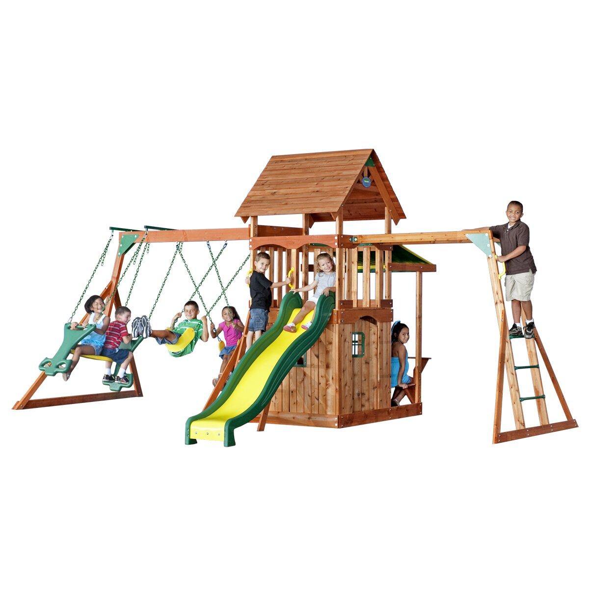 Backyard Discovery Saratoga Swing Set