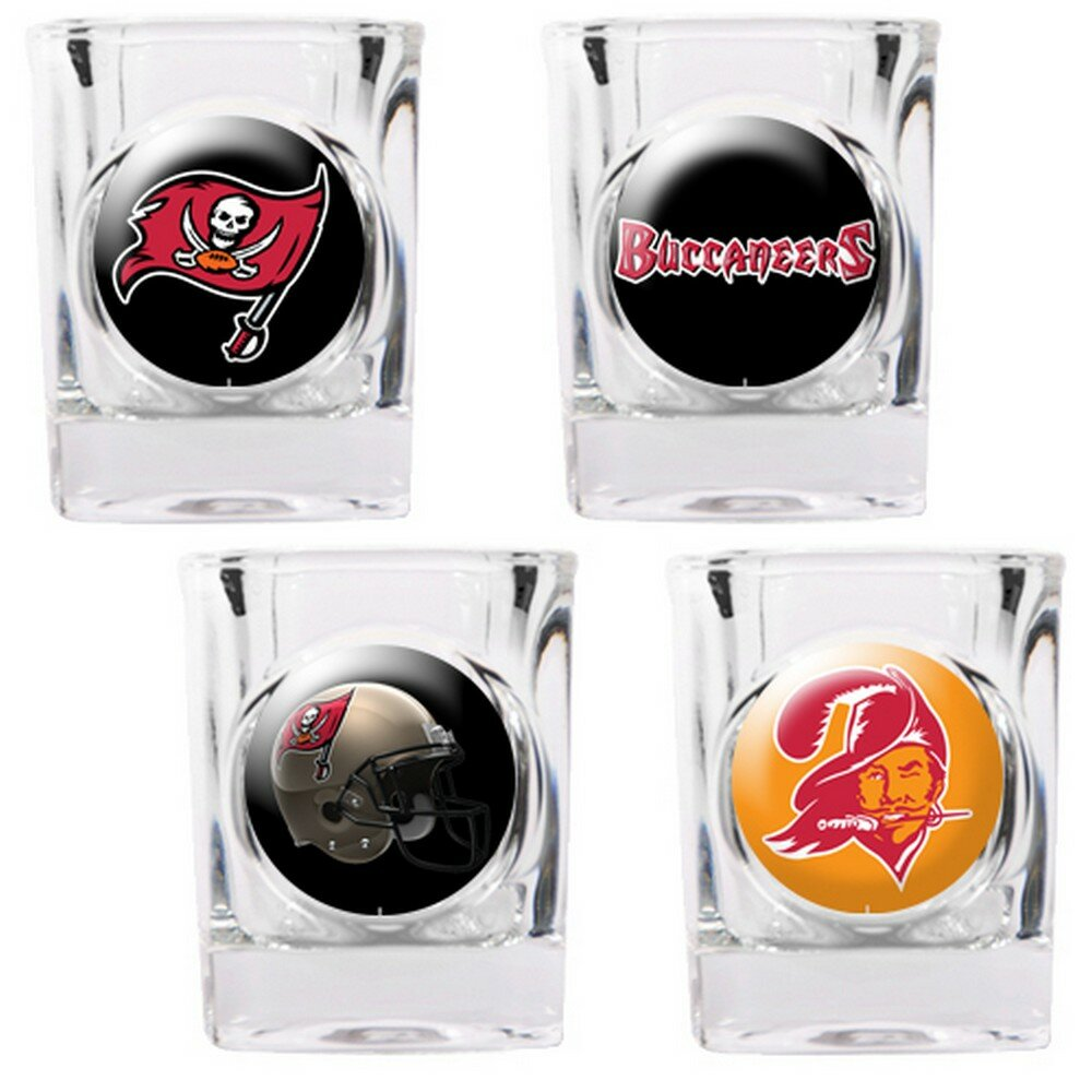 Great American Products 4 Piece Nfl Collector S Shot Glass