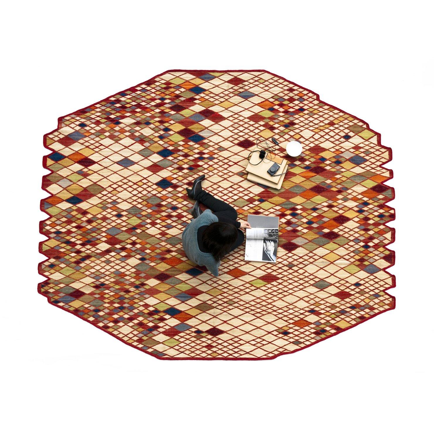 nanimarquina losanges area rug reviews wayfair. Black Bedroom Furniture Sets. Home Design Ideas