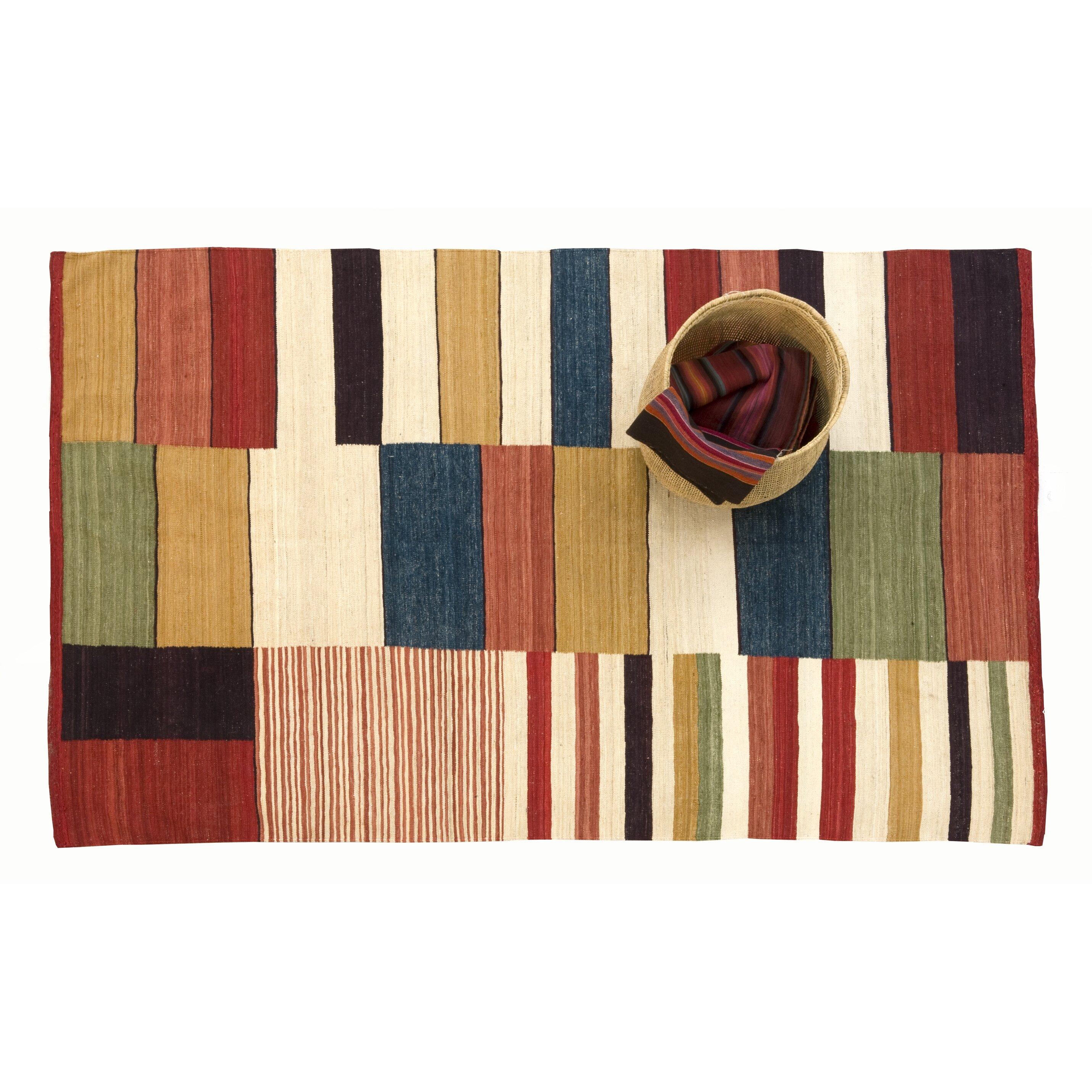 nanimarquina medina multicolor rug reviews wayfair. Black Bedroom Furniture Sets. Home Design Ideas