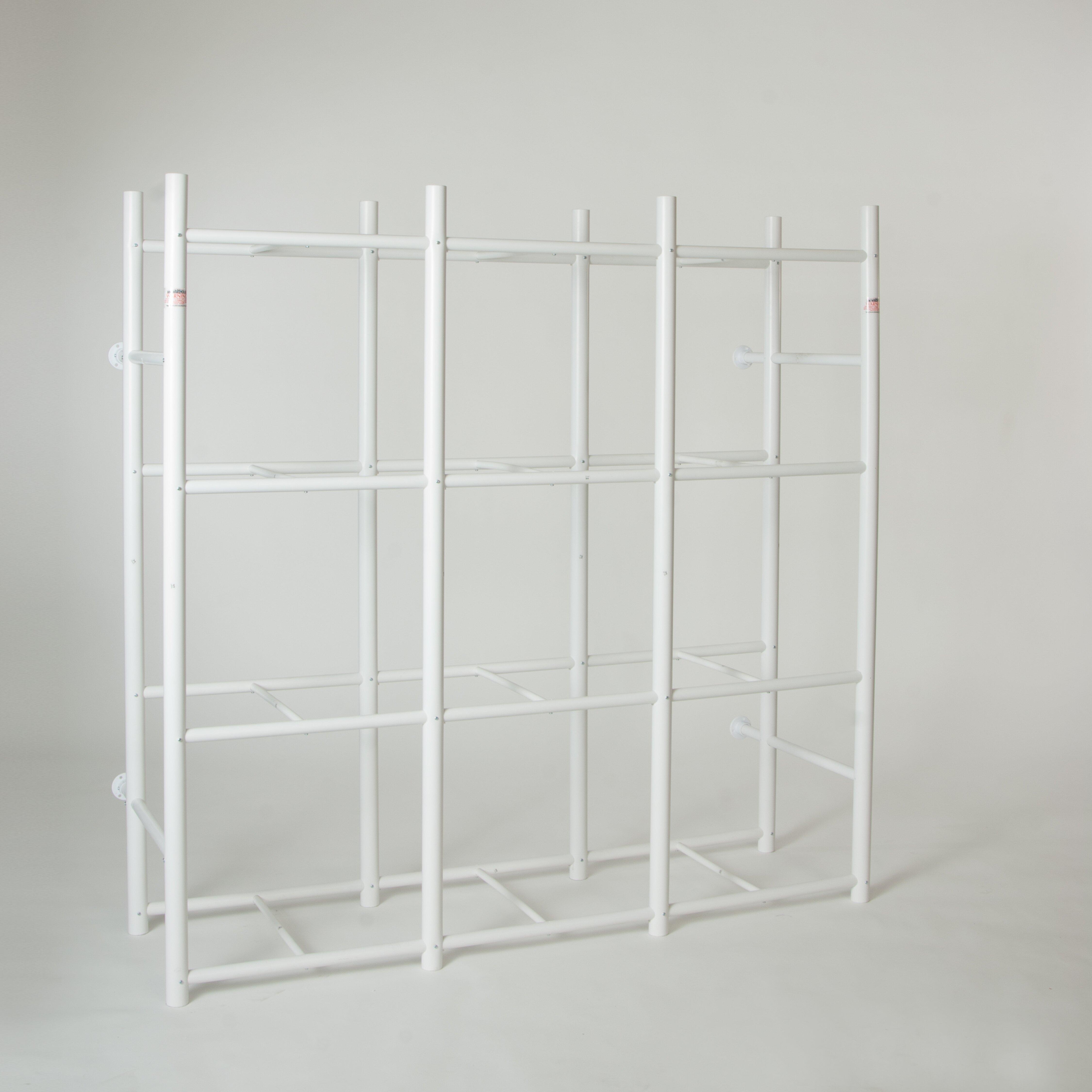 Bin Warehouse 12 Tote Storage System 69 Quot H 4 Shelf