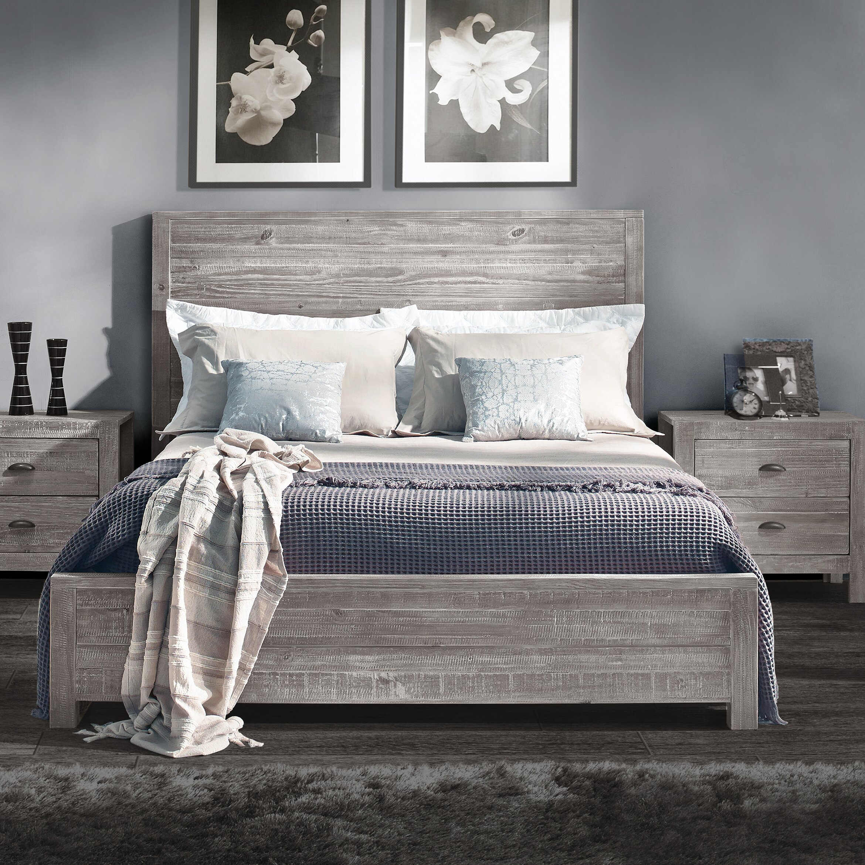 grain wood furniture montauk panel bed bed wood furniture