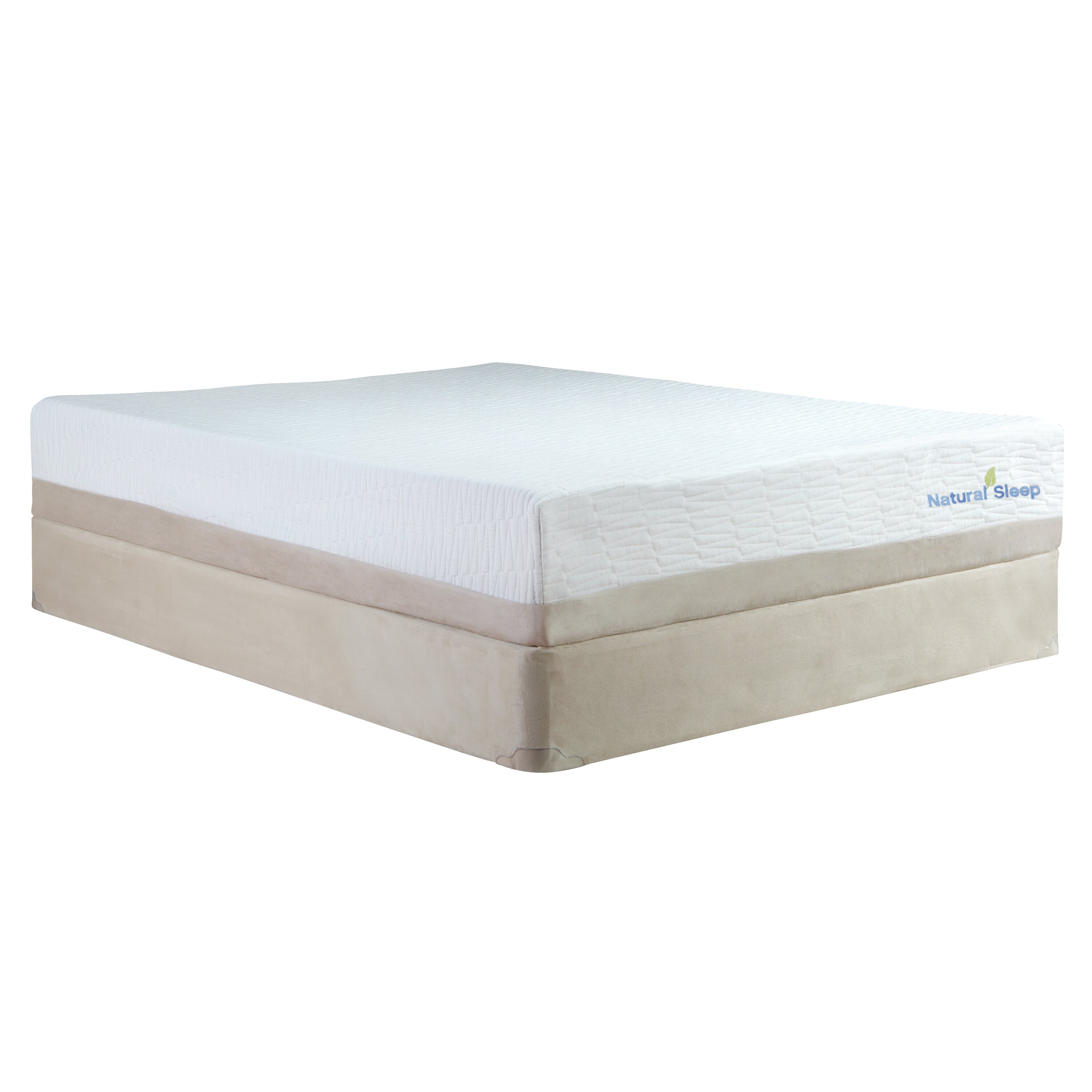 "Classic Brands Natural Sleep 11"" Latex Foam Mattress"