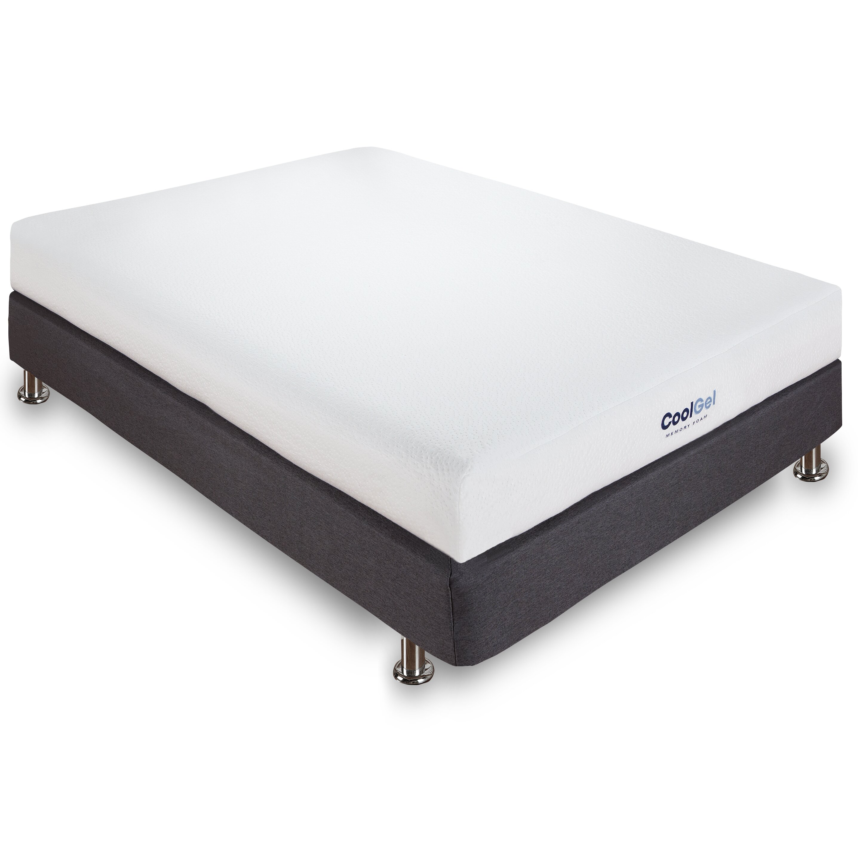 Classic brands 6 gel memory foam mattress reviews wayfair Where to buy mattress foam