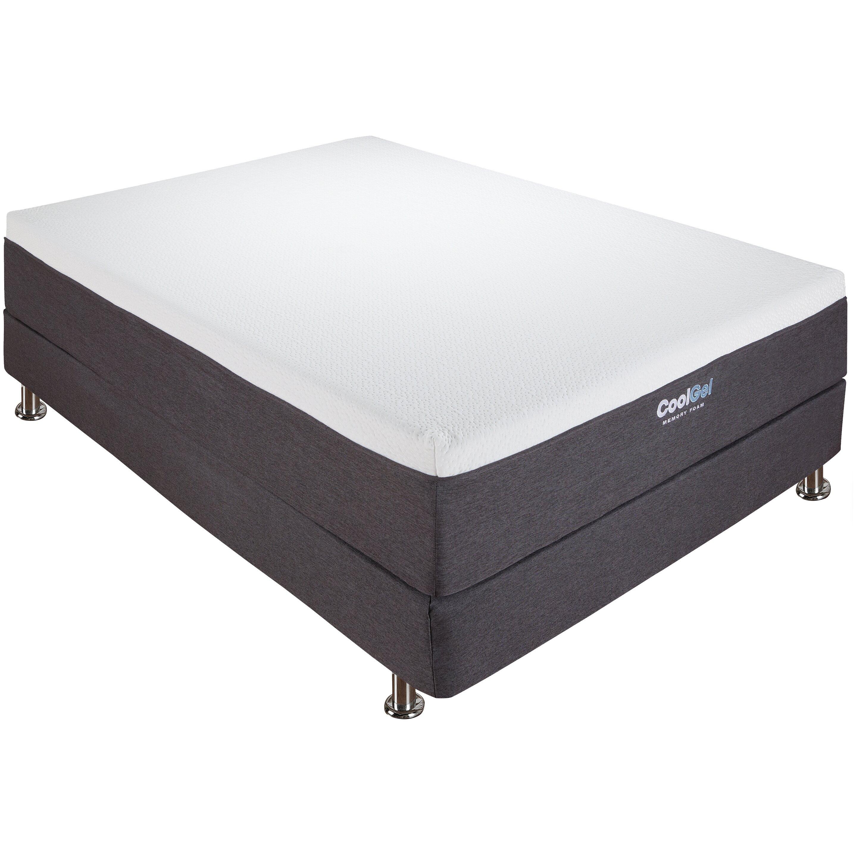 classic brands cool gel 12 gel memory foam mattress reviews wayfair. Black Bedroom Furniture Sets. Home Design Ideas