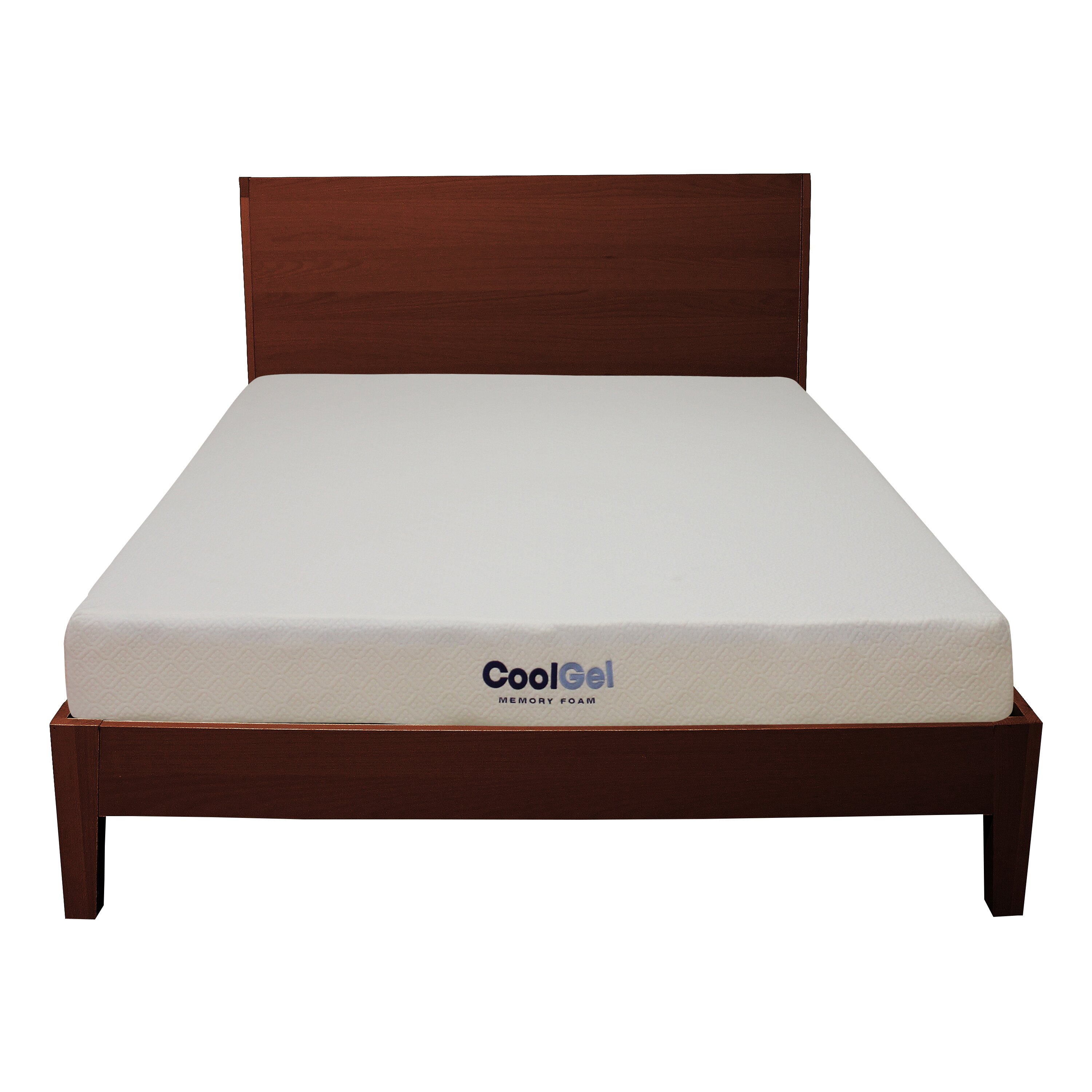 "Classic Brands 6"" Gel Memory Foam Mattress & Reviews"