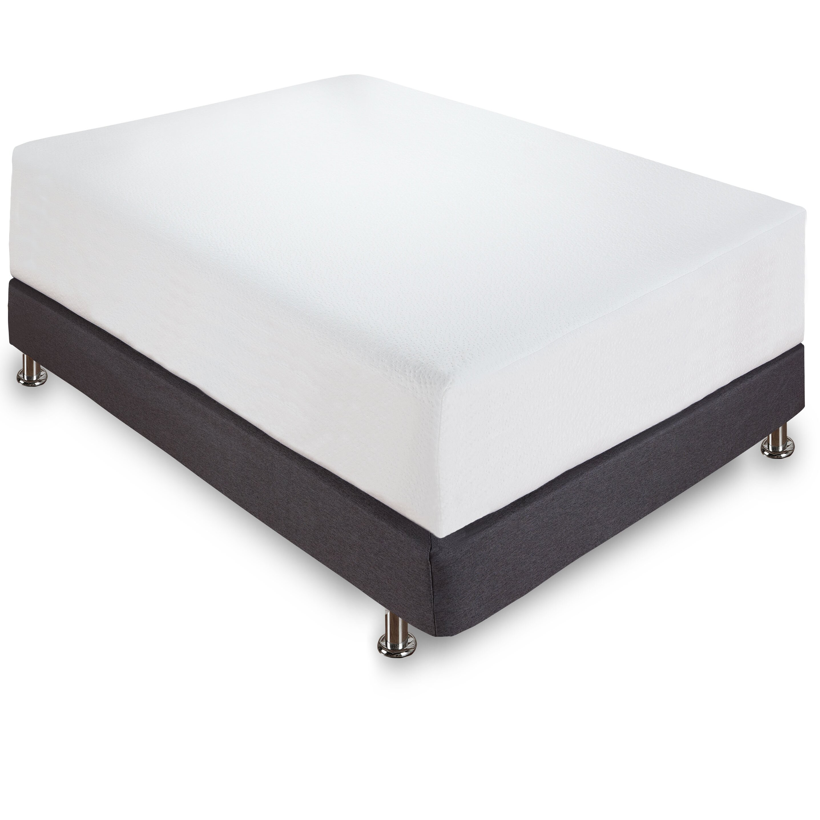 Classic Brands 12 Memory Foam Mattress Reviews Wayfair