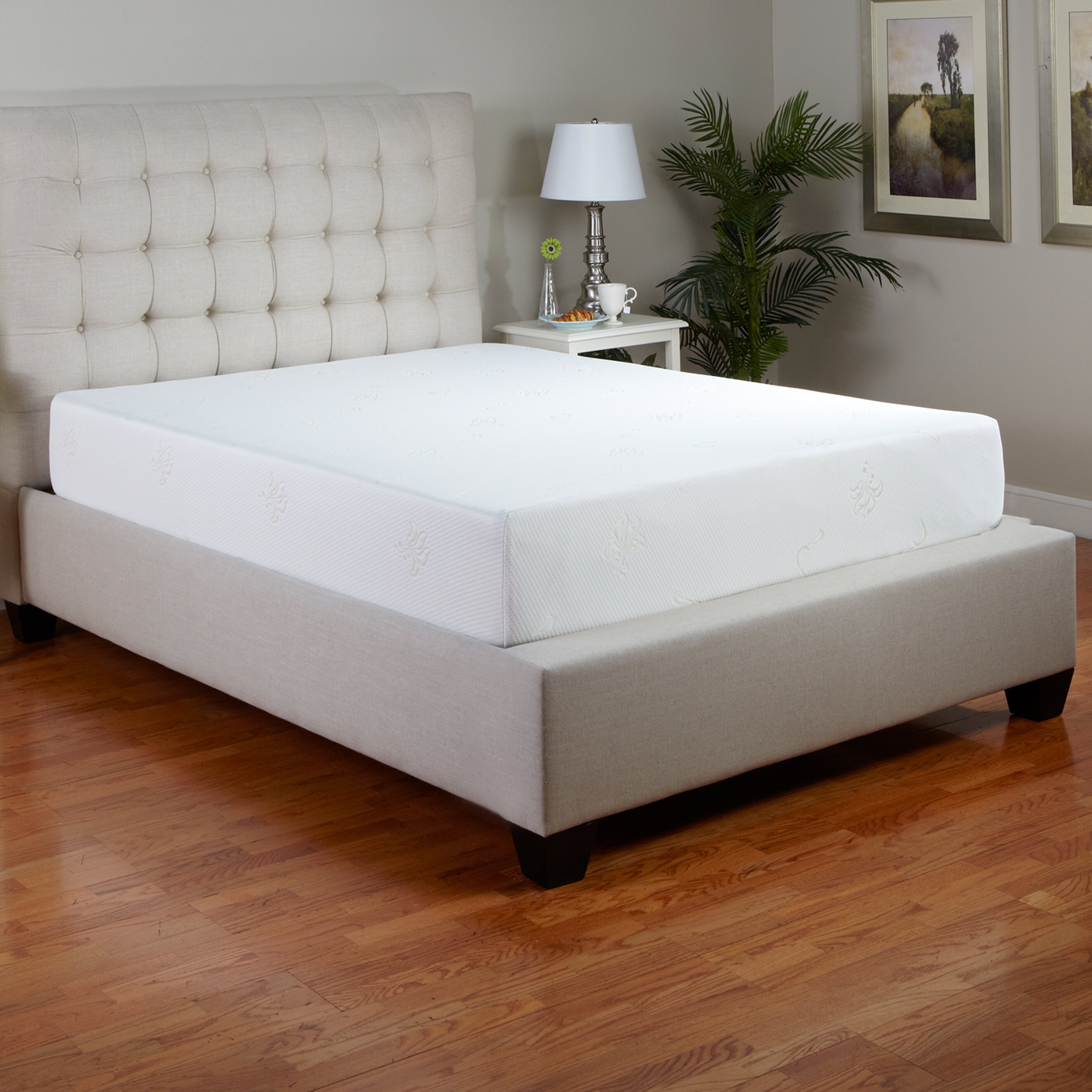 "Classic Brands 10"" Memory Foam Mattress & Reviews"