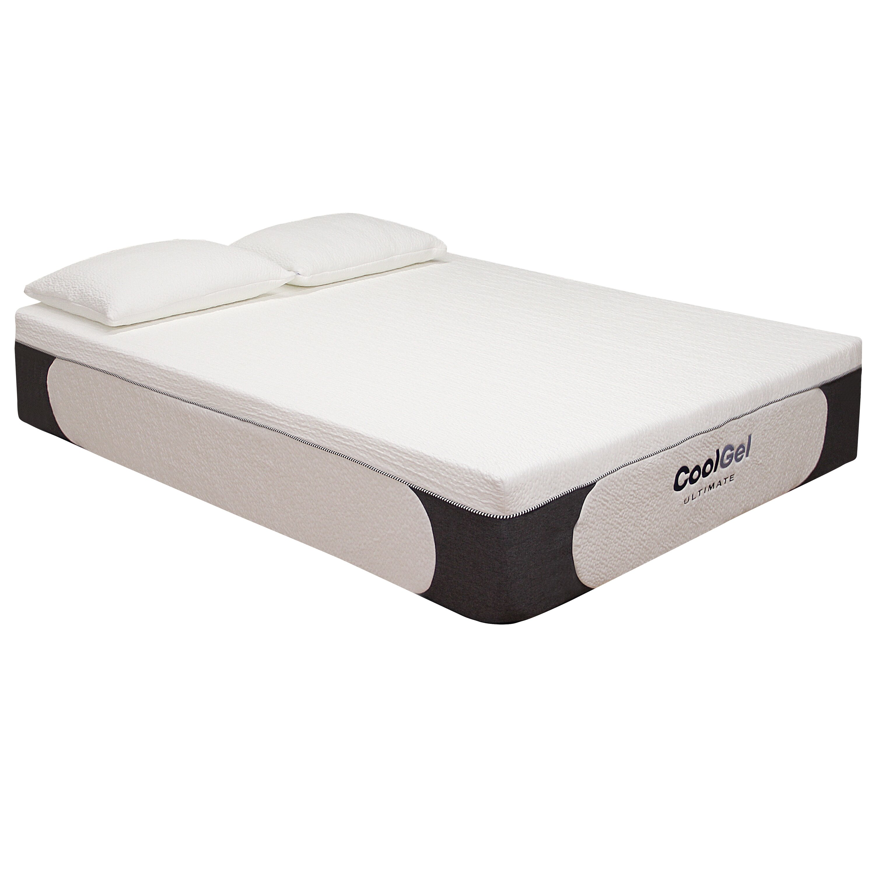 "Classic Brands 14"" Gel Memory Foam Mattress & Reviews"
