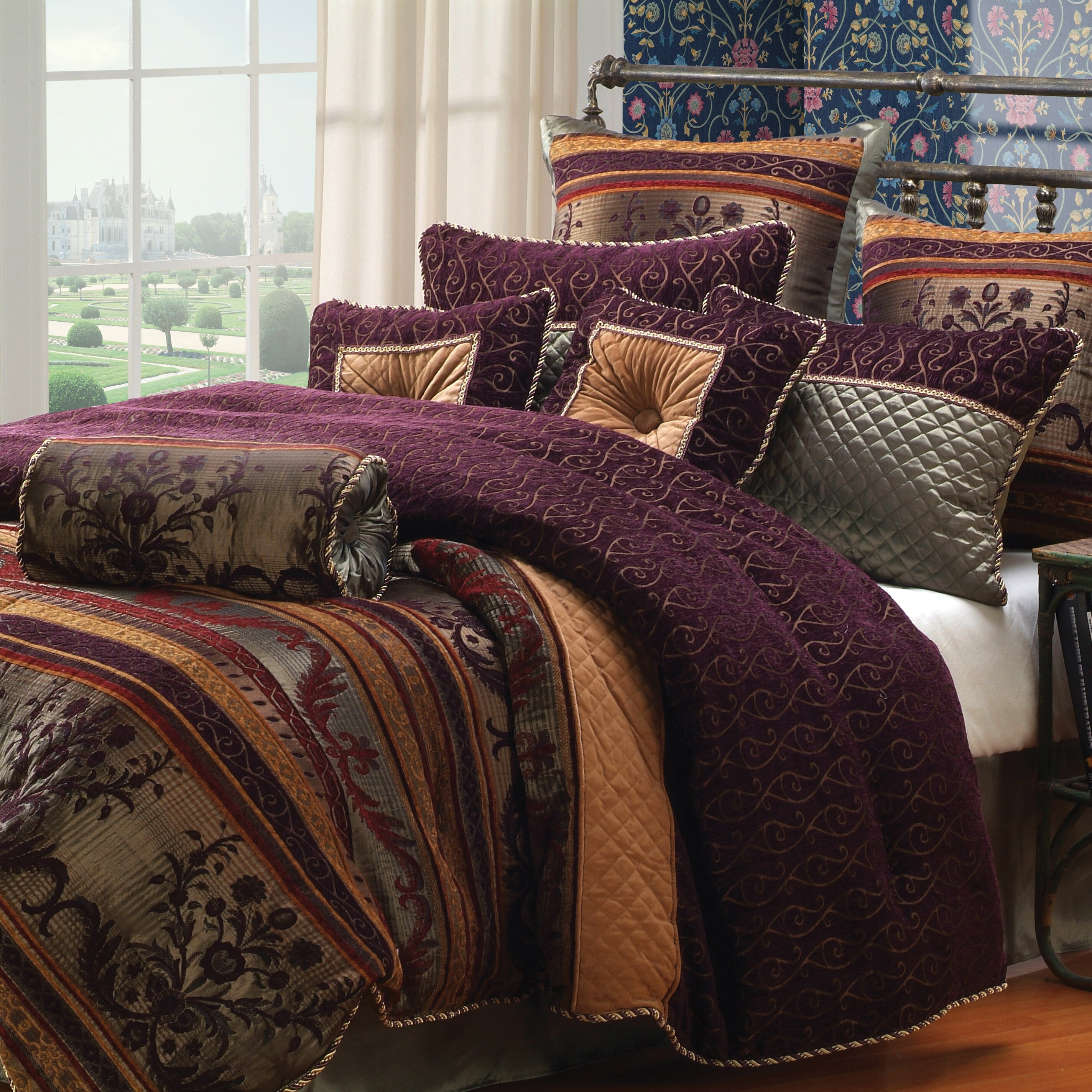Hallmart Collectibles Petra Comforter Set Amp Reviews Wayfair