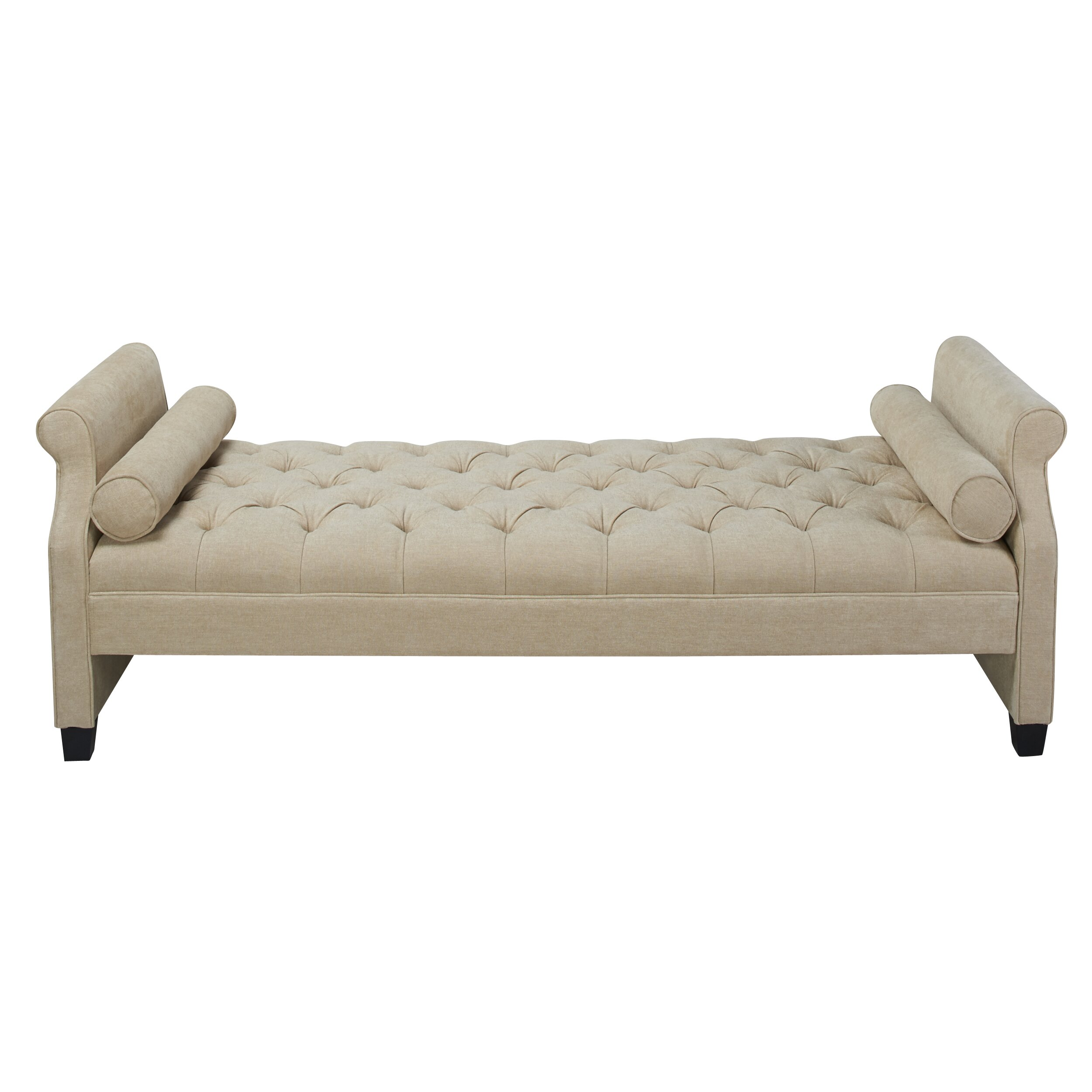 Jennifer taylor eliza upholstered sofa bed reviews wayfair for Divan upholstered bed