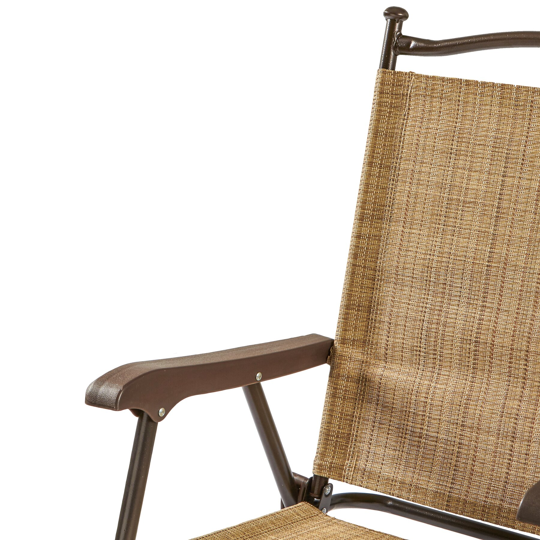 Greendale Home Fashions Sling Back Outdoor Chair & Reviews