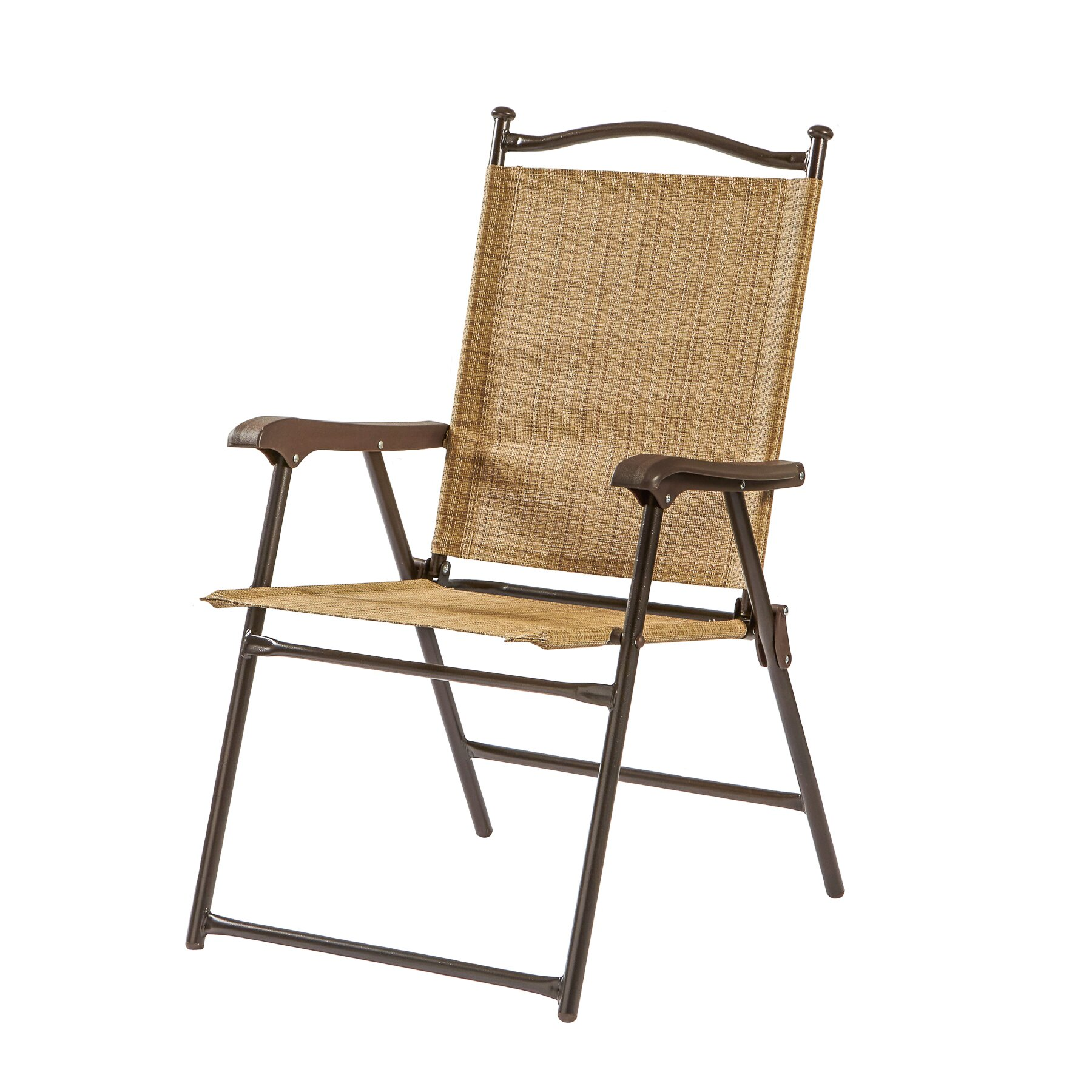 Greendale home fashions sling back outdoor chair reviews for Back porch furniture sets