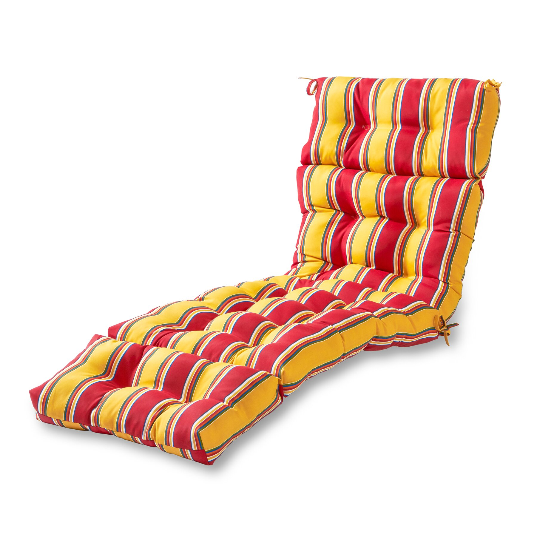 Greendale Home Fashions Outdoor Chaise Lounge Cushion ...
