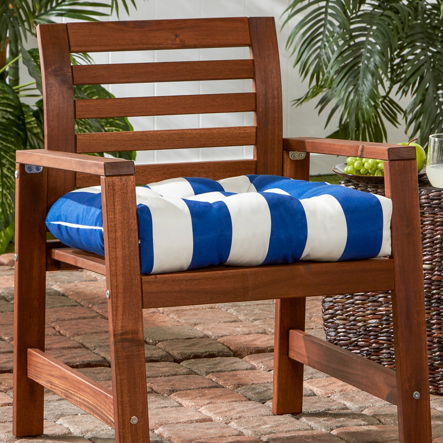 Greendale Home Fashions Outdoor Dining Chair Cushion & Reviews