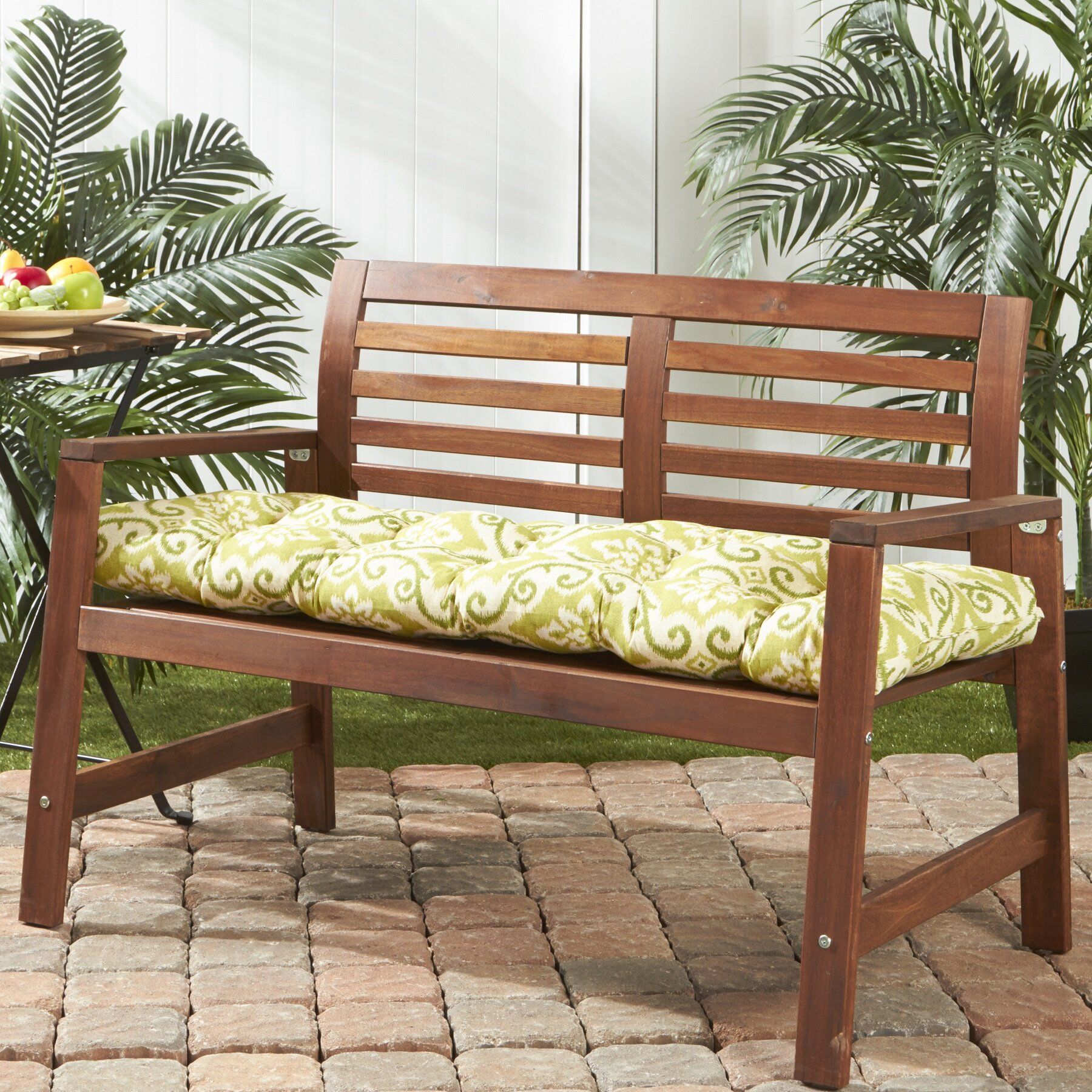 Greendale Home Fashions Outdoor Bench Cushion & Reviews