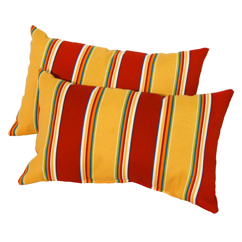 Throw Pillow Outdoor : Greendale Home Fashions Outdoor Throw Pillow & Reviews Wayfair