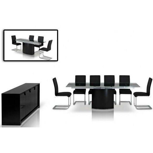 Vig Furniture Remix Extendable Dining Table Reviews Wayfair