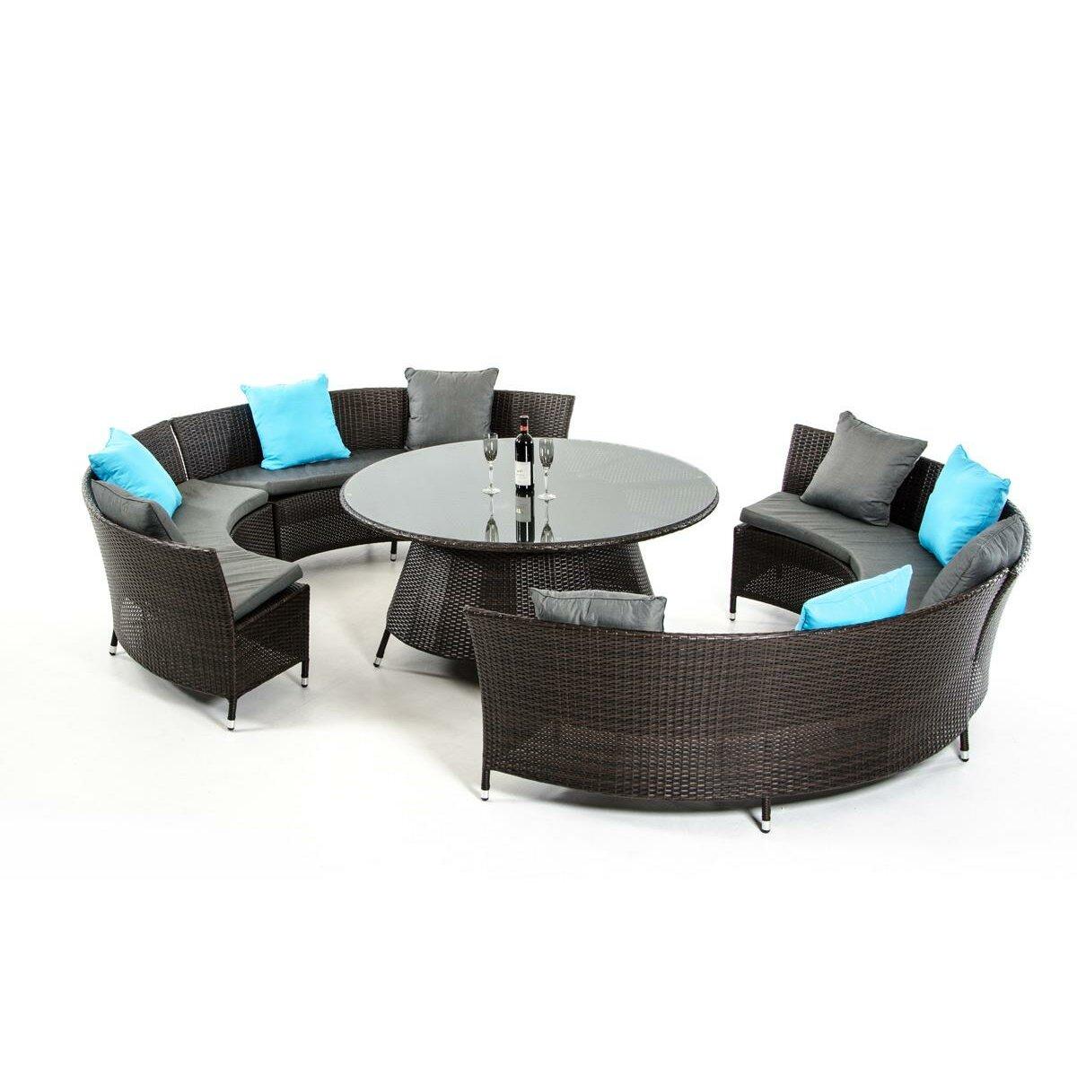 Vig Furniture Renava Luxemburg 5 Piece Dining Set With Cushions Reviews Wayfair