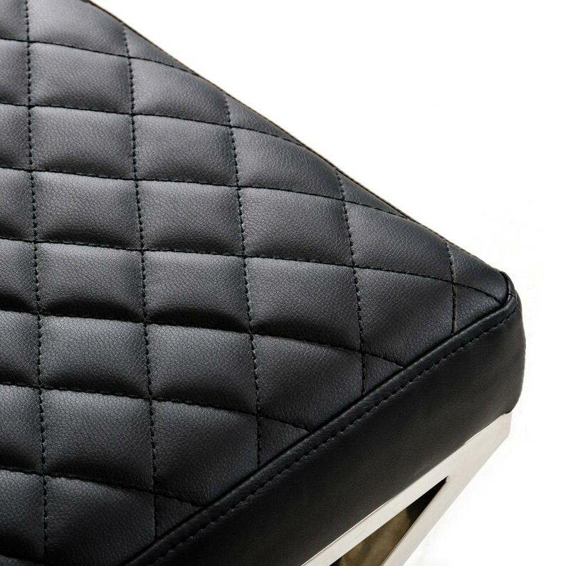 Vig Furniture Modrest Leatherette Kitchen Bench Reviews Wayfair