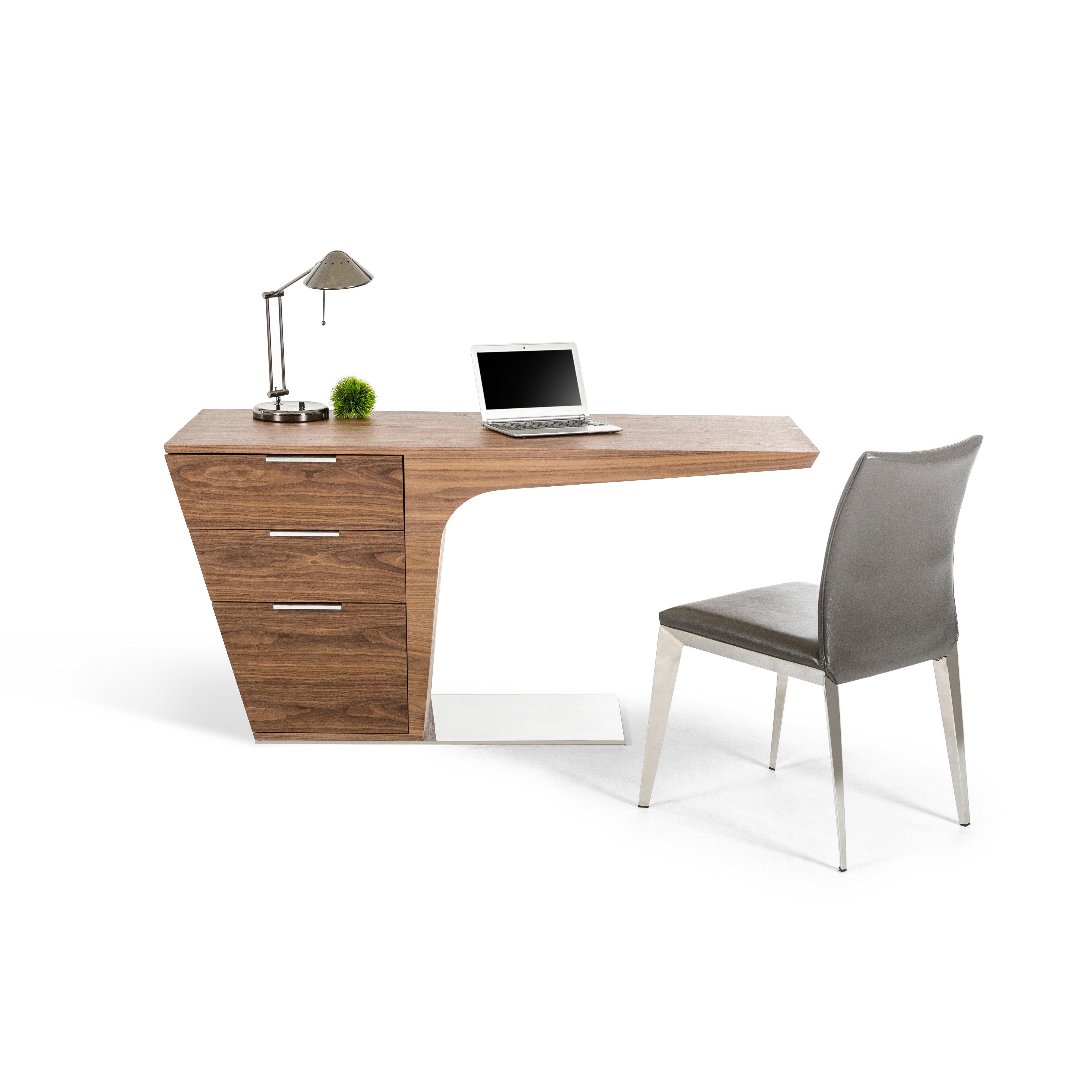VIG Furniture Modrest Bismarck Desk & Reviews | Wayfair
