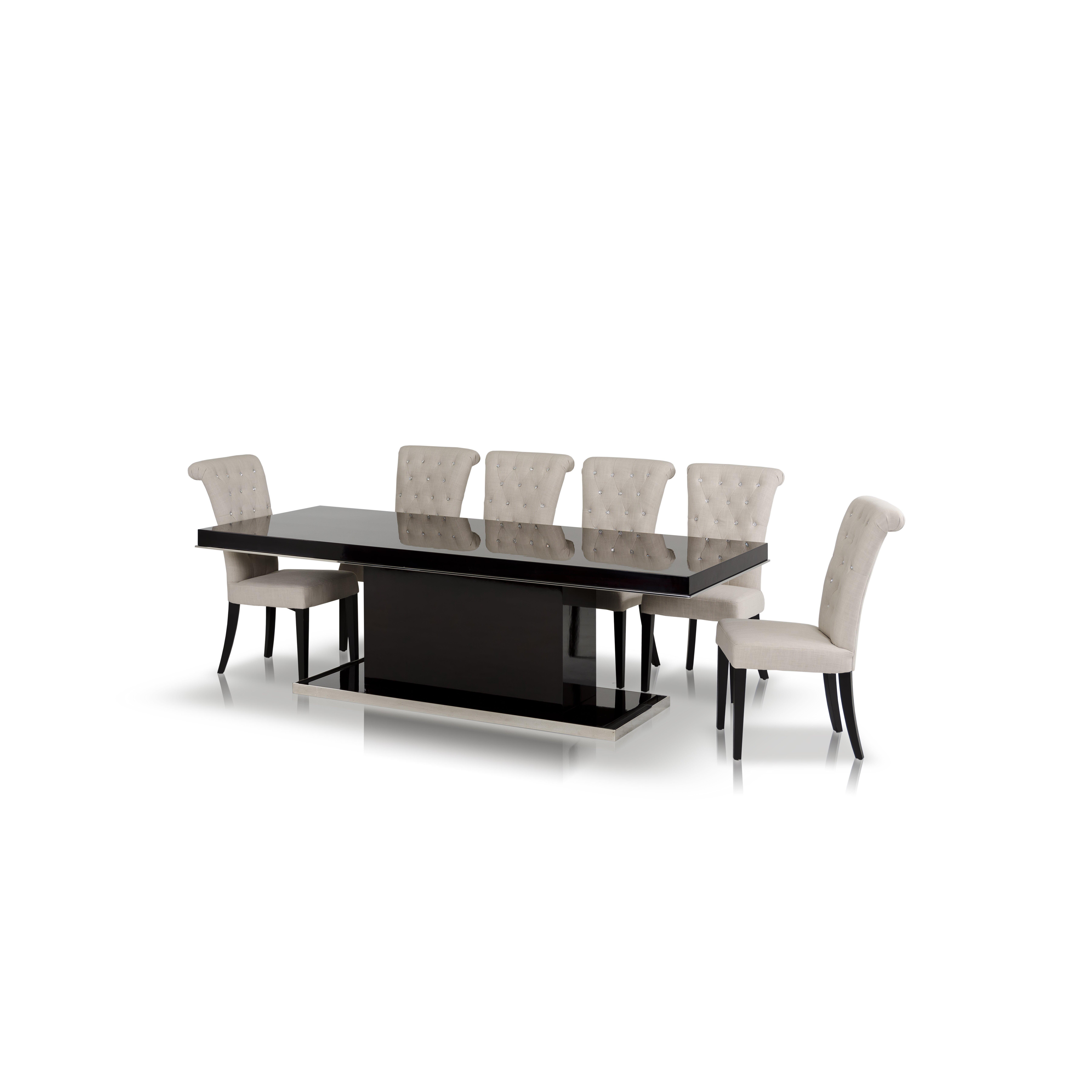 Vig Furniture Modrest Noble Dining Table Reviews Wayfair