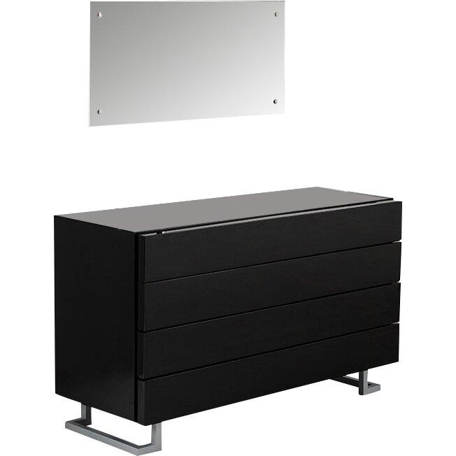 Vig Furniture Modrest Lyrica 4 Drawer Bedroom Dresser Reviews Wayfair