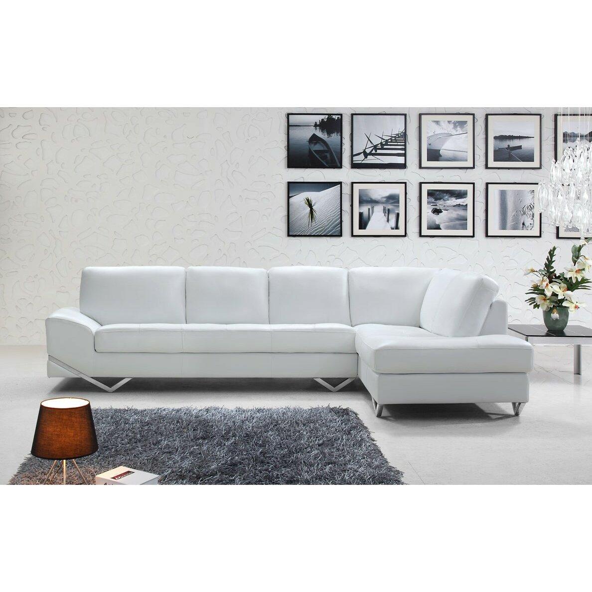 Vig Furniture Divani Casa Sectional Reviews Wayfair