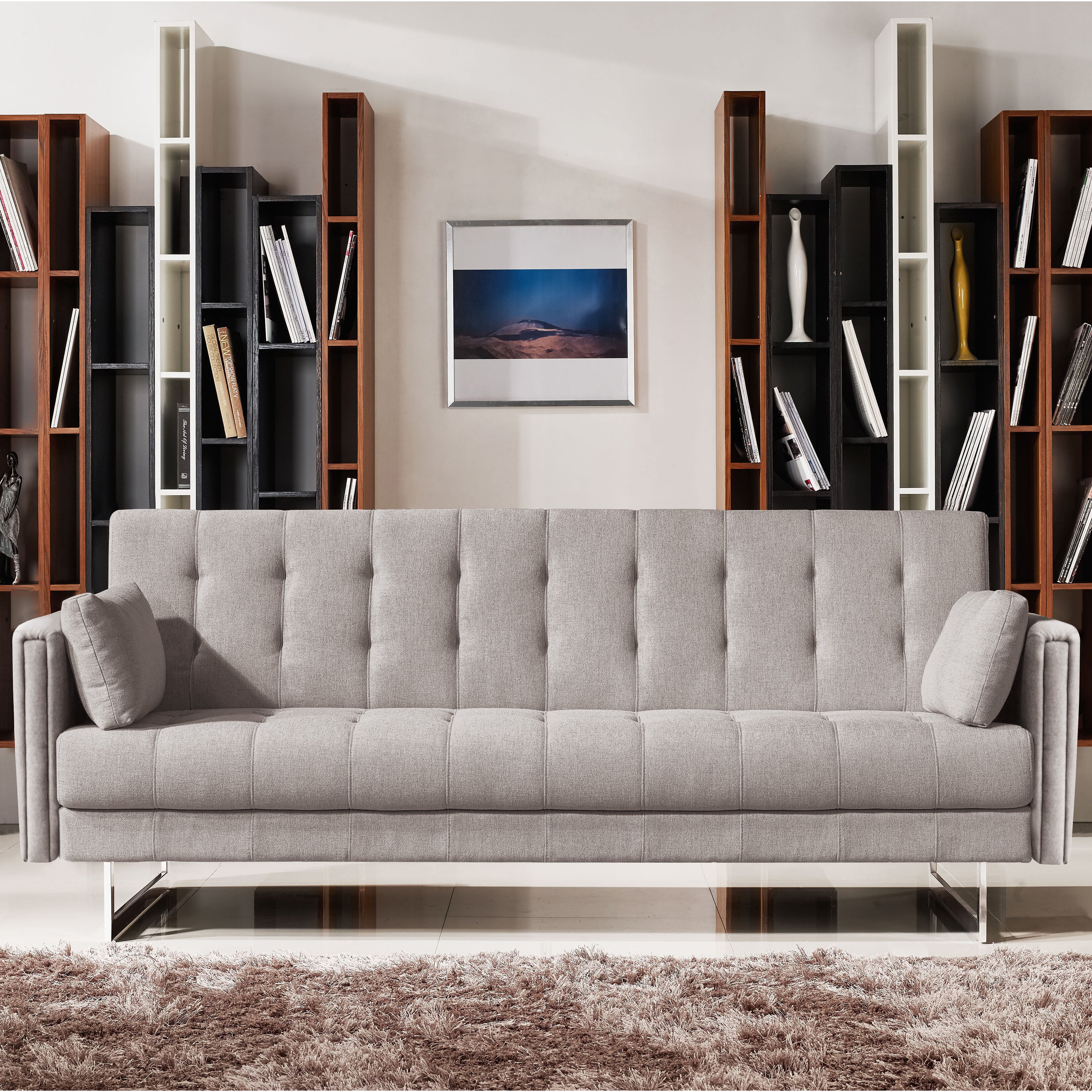 Vig furniture divani casa tejon sleeper sofa reviews for Divani recliner