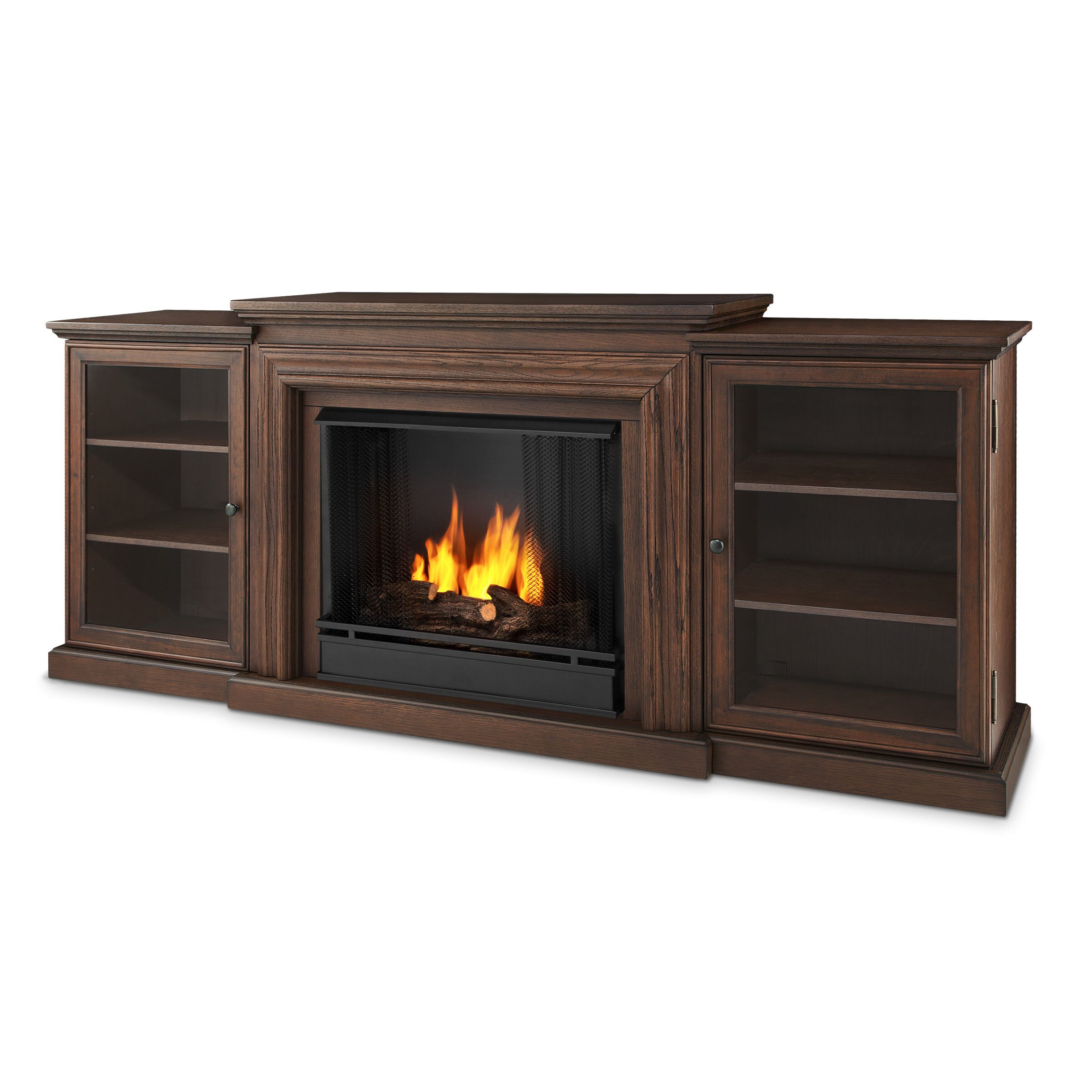 Real Flame Frederick Gel Fuel Tv Stand Amp Reviews Wayfair