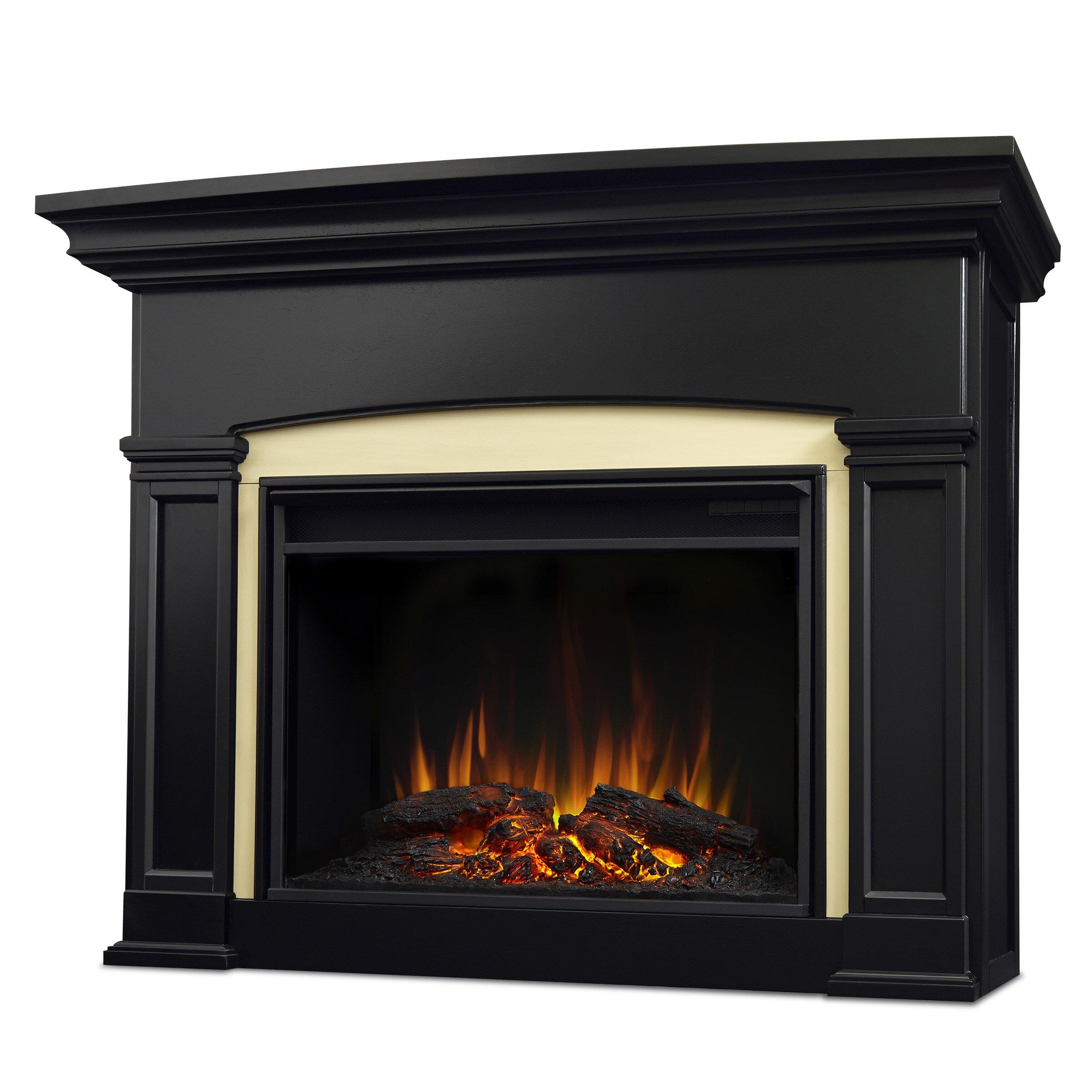 Real Flame Holbrook Grand Electric Fireplace Reviews Wayfair