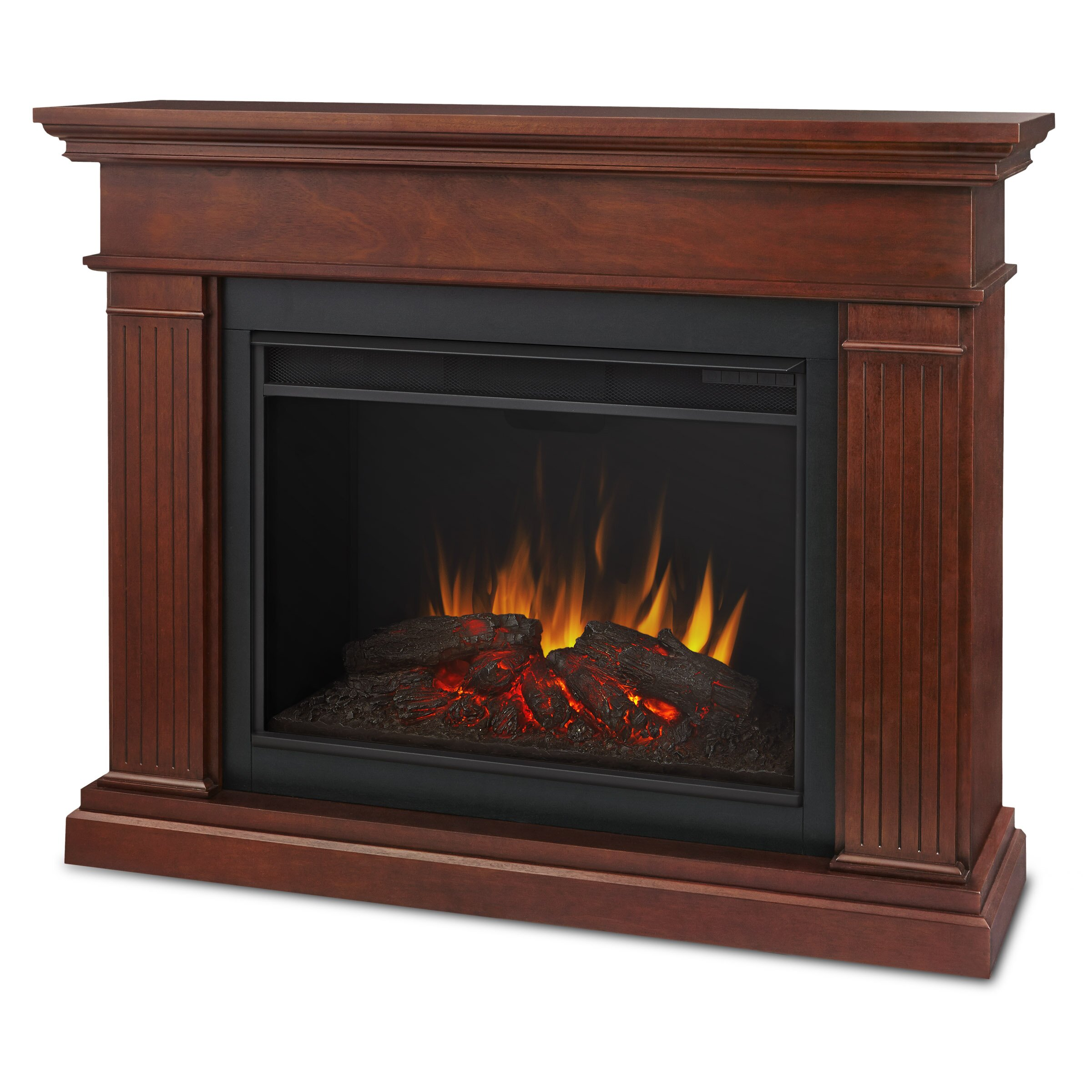 Real Flame Kennedy Grand Electric Fireplace Reviews Wayfair