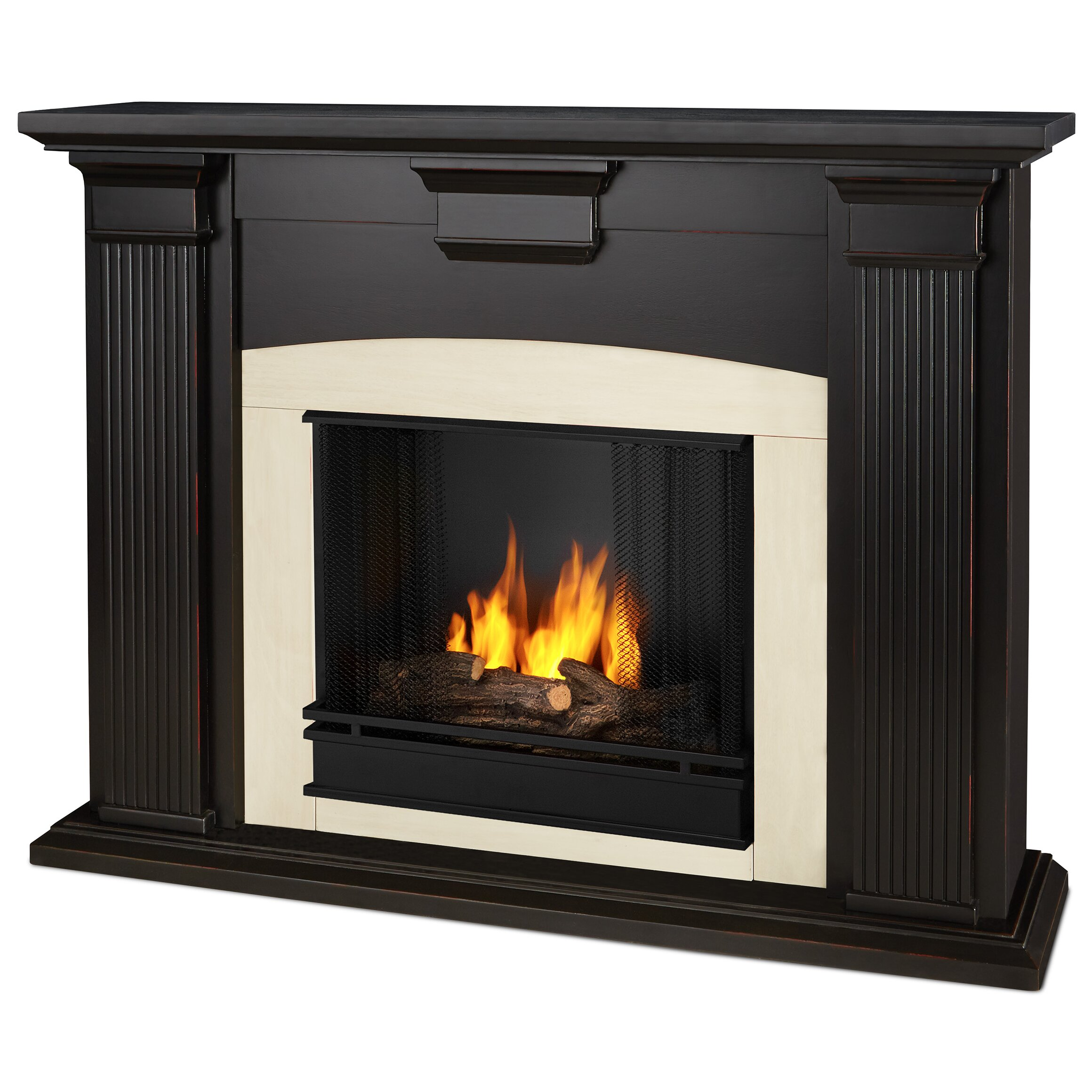 Real Flame Adelaide Gel Fuel Fireplace Reviews Wayfair