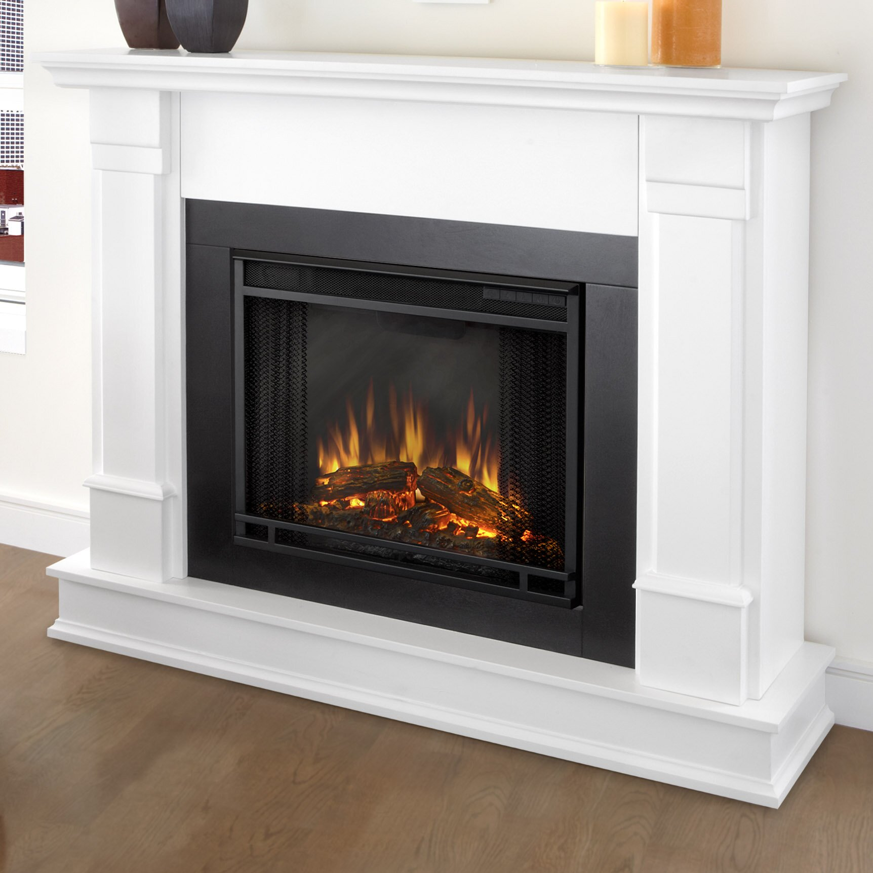 Wayfair Com Sales: Real Flame Silverton Electric Fireplace & Reviews