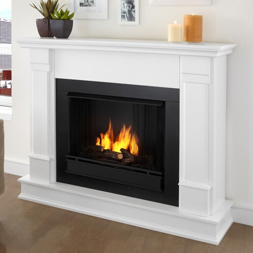 Real flame silverton gel fuel fireplace reviews wayfair for Wayfair gel fireplace