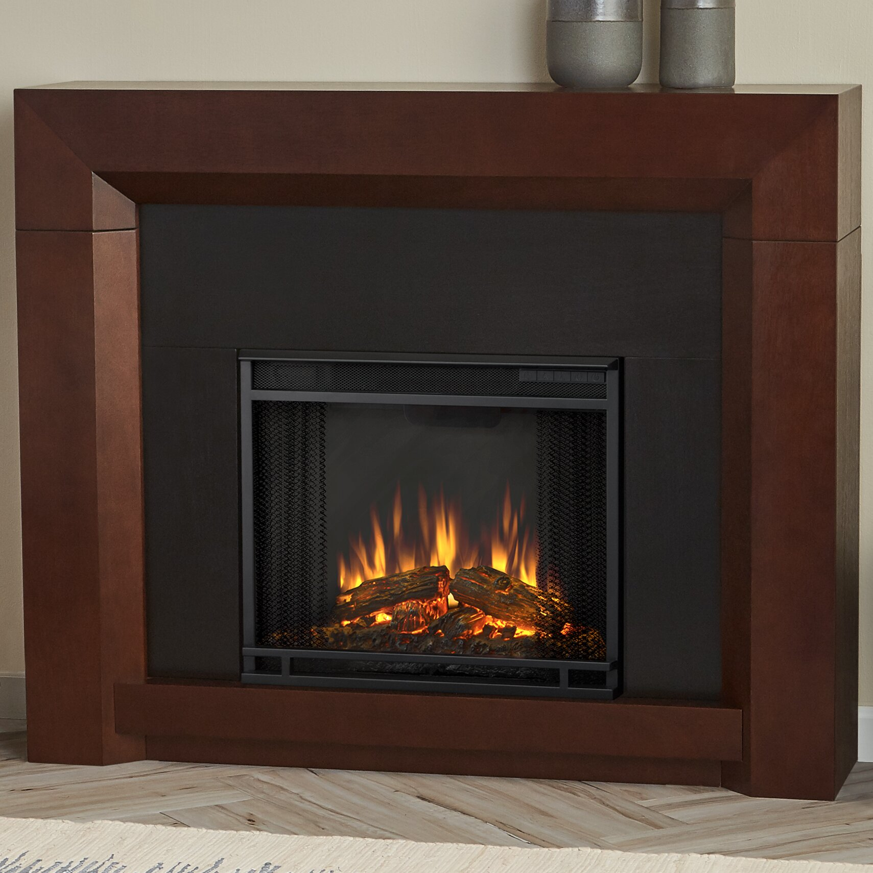 Real Flame Colton Electric Fireplace Wayfair Ca