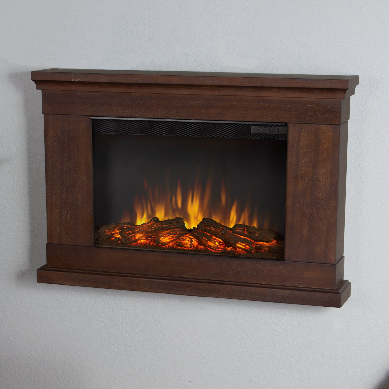 Real Flame Slim Wall Mount Electric Fireplace Reviews