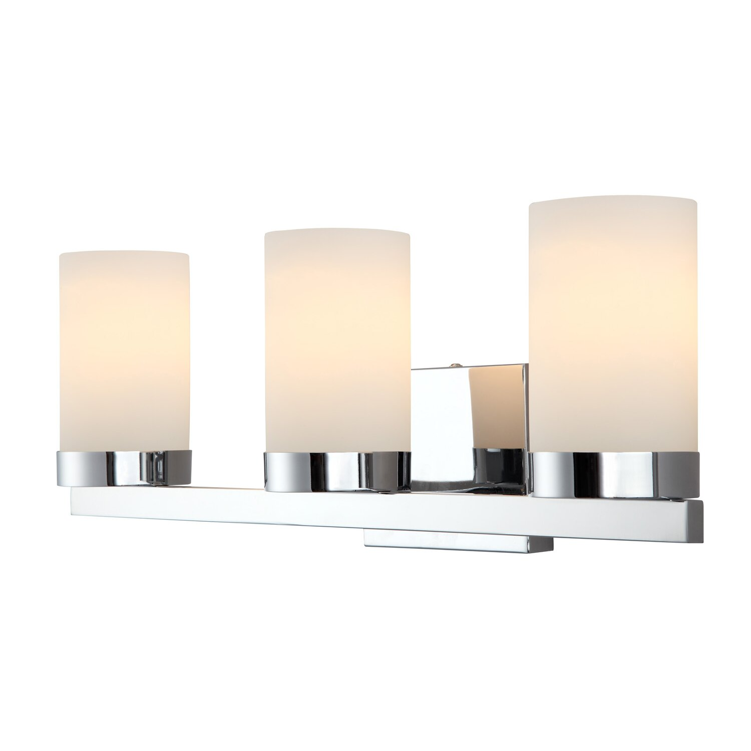Canarm Milo 3 Light Bath Vanity Light & Reviews