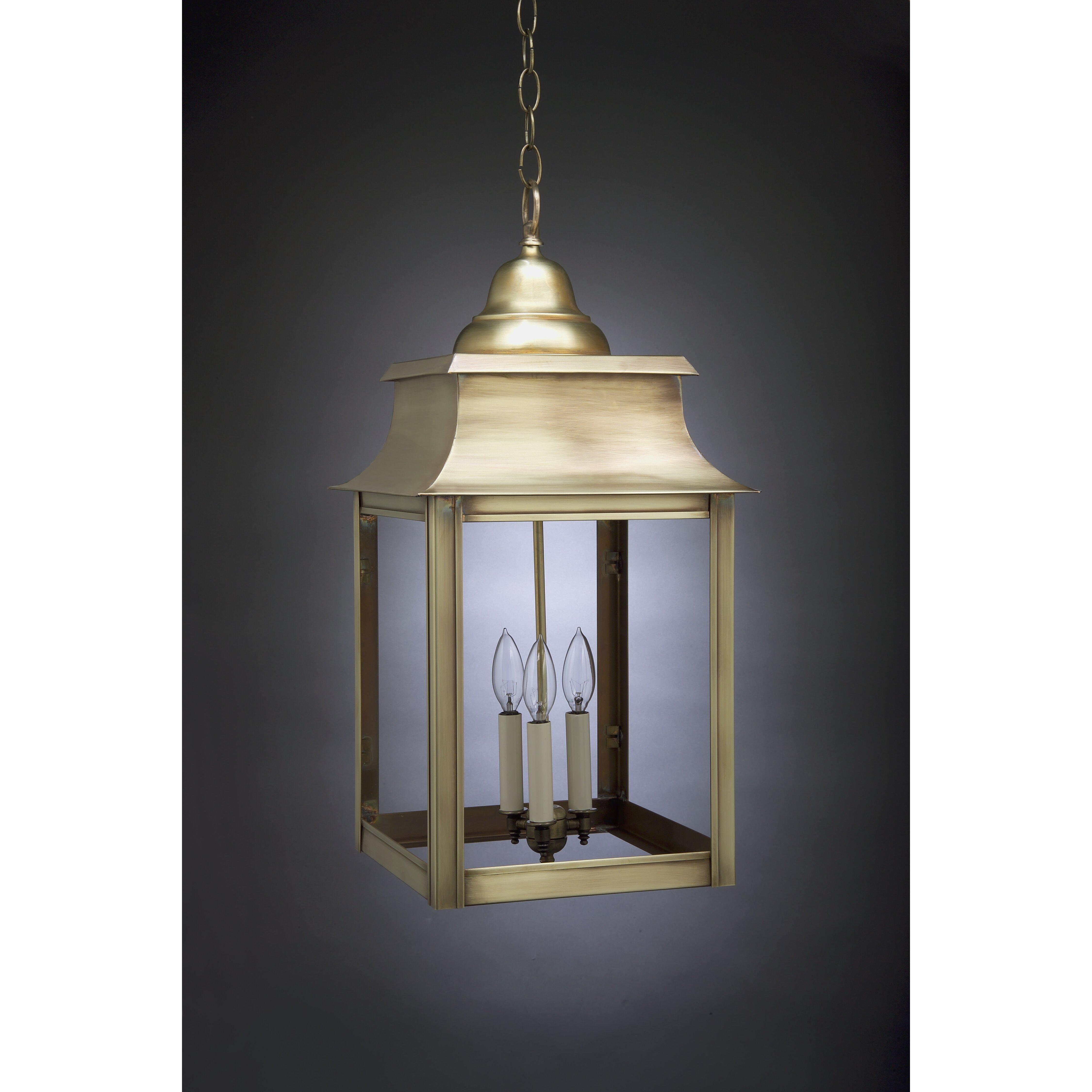 Wayfair Outdoor Hanging Lights: Northeast Lantern Concord 3 Light Outdoor Hanging Lantern